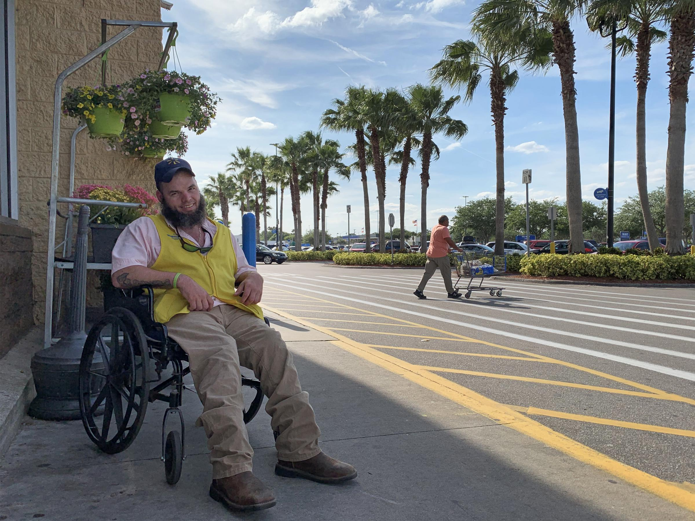 My Whole Life Is On Hold': As Walmart Eliminates Greeters, A