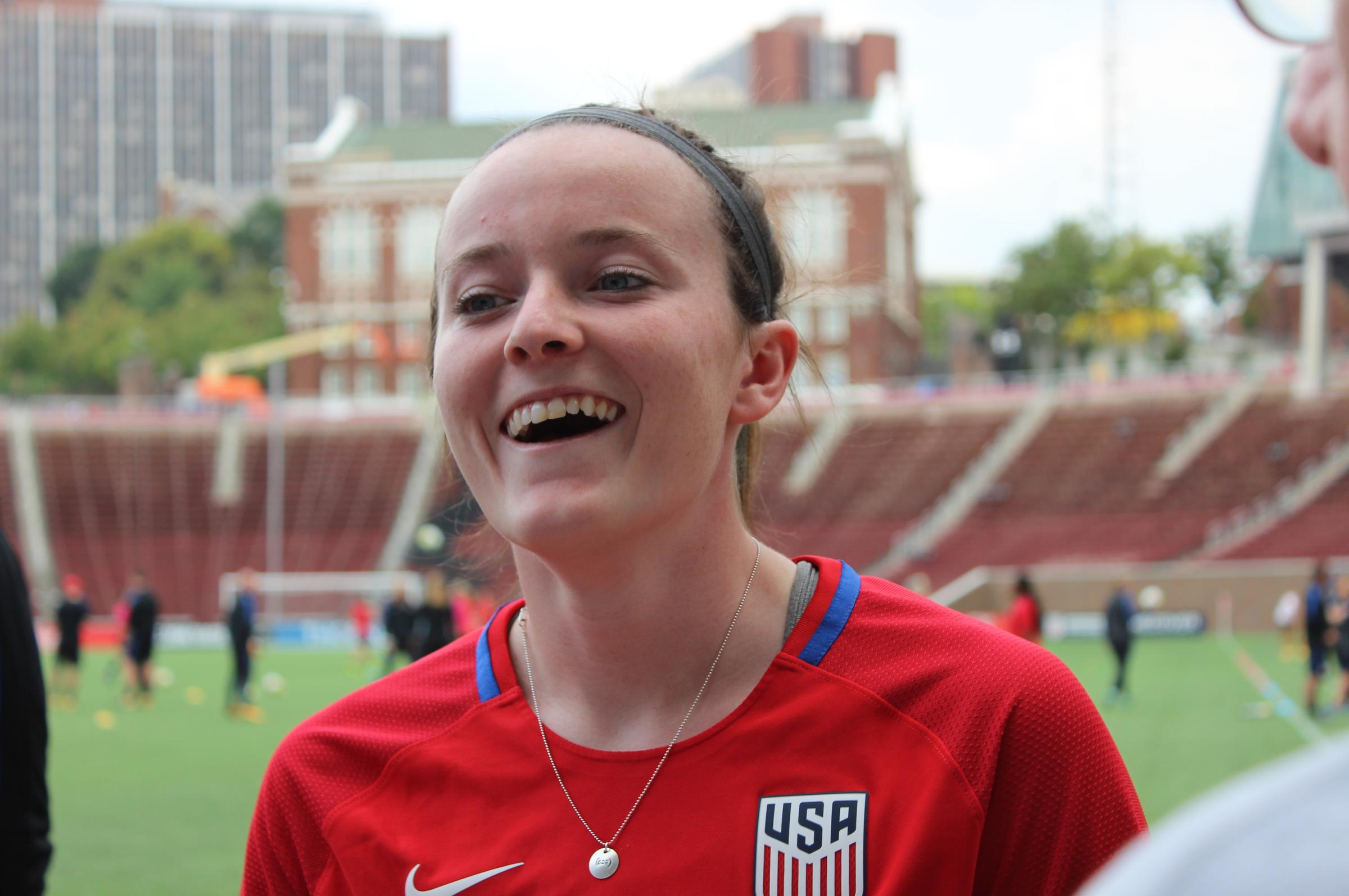 Cincinnati's Rose Lavelle Named To USA World Cup Roster