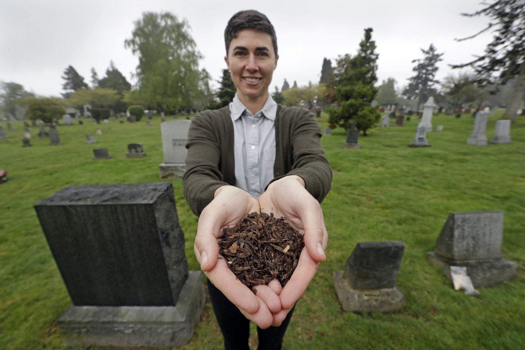 Soil Instead Of Ashes: Human Composting Is About To Become Legal