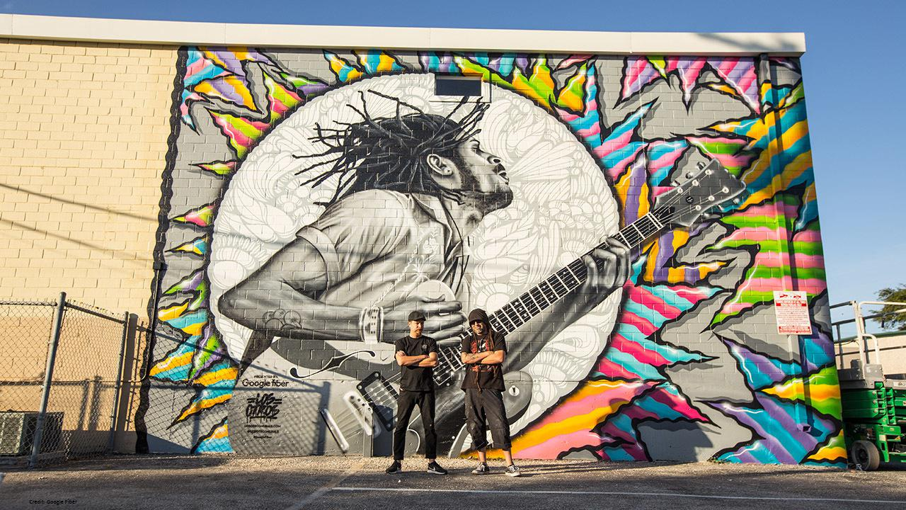 Artists Brighten City With Murals As They Dream Of Creating An