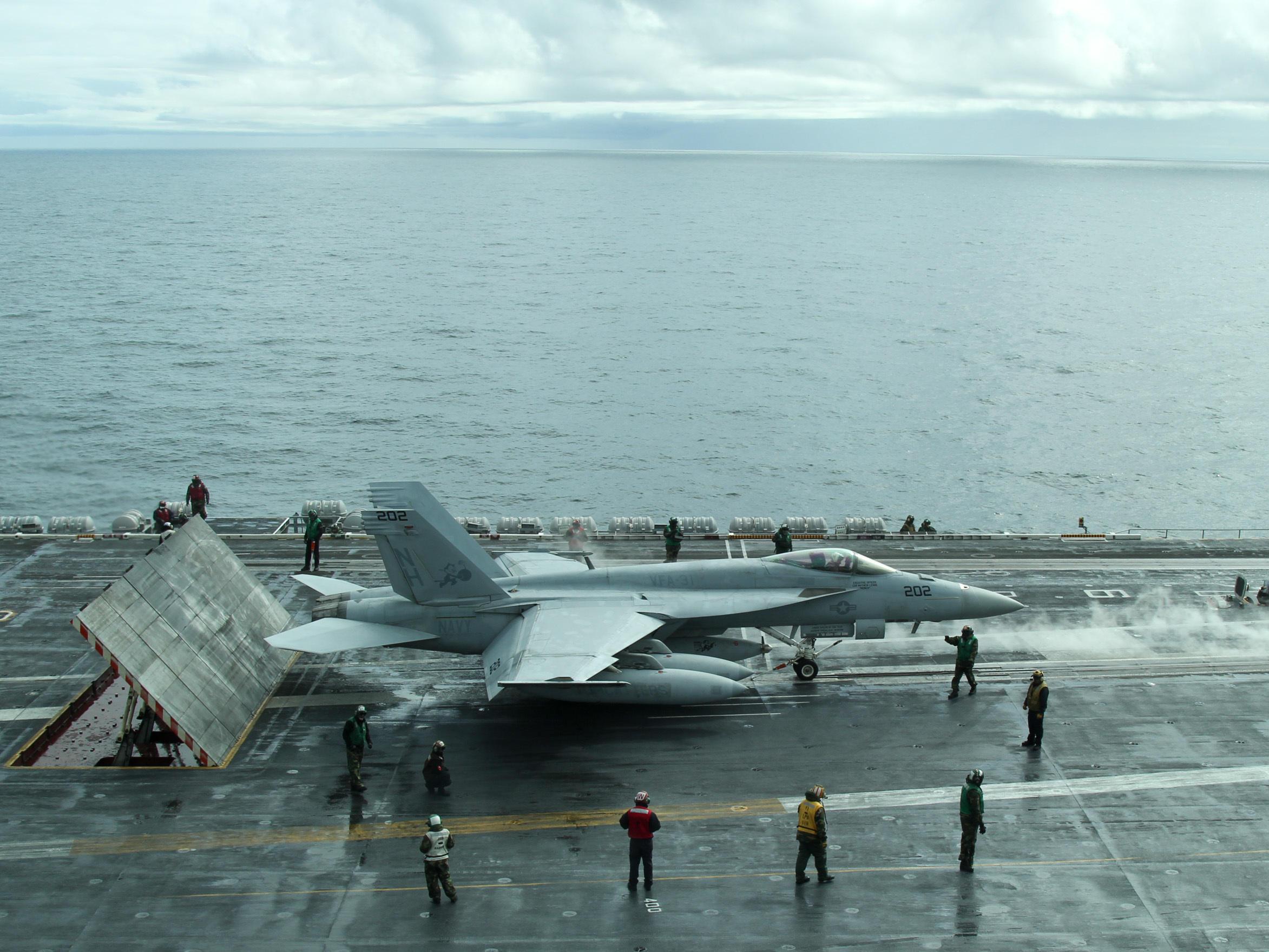As Polar Ice Cap Recedes, The U.S. Navy Looks North