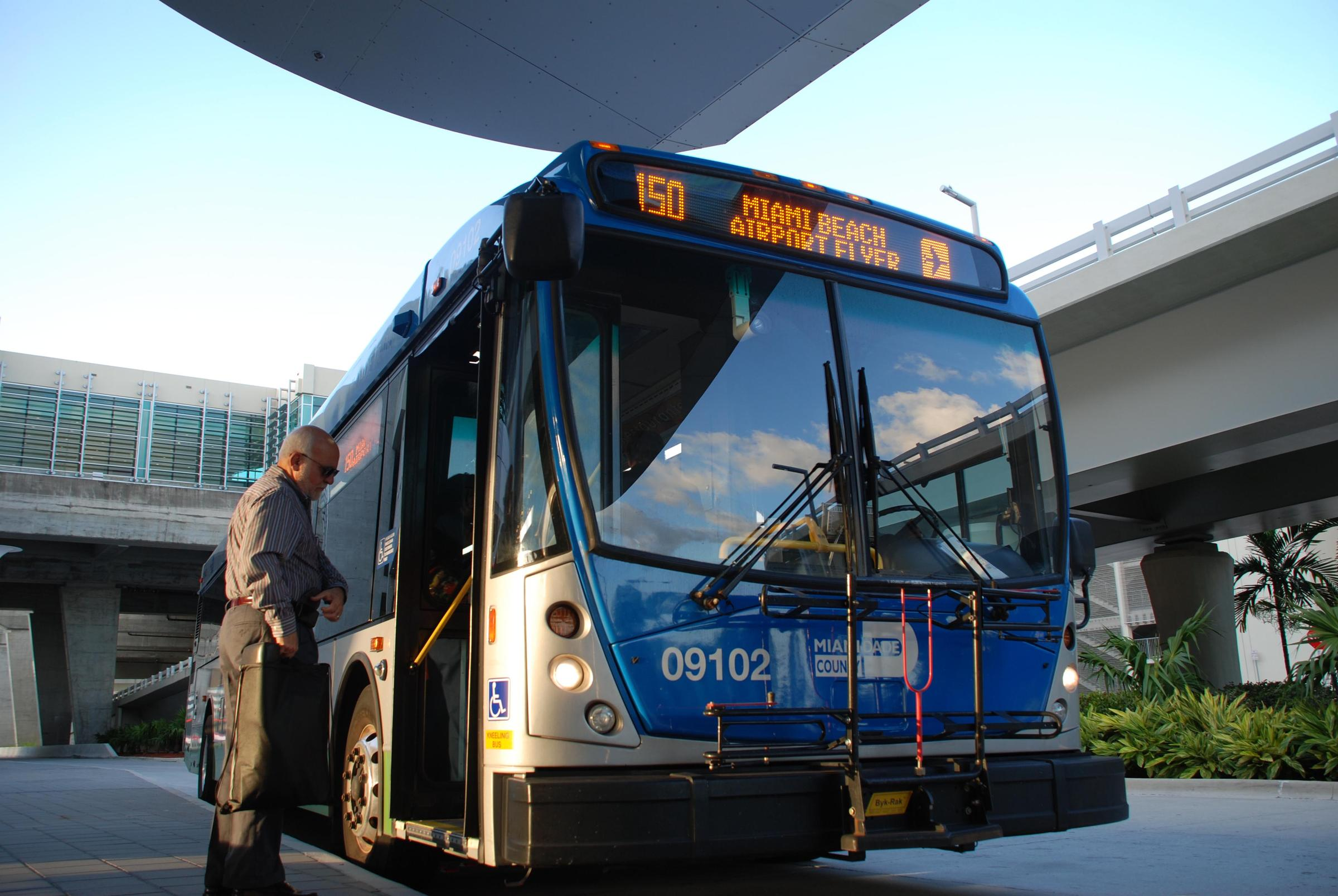 Miami Traffic Report, Better Bus Project, African American