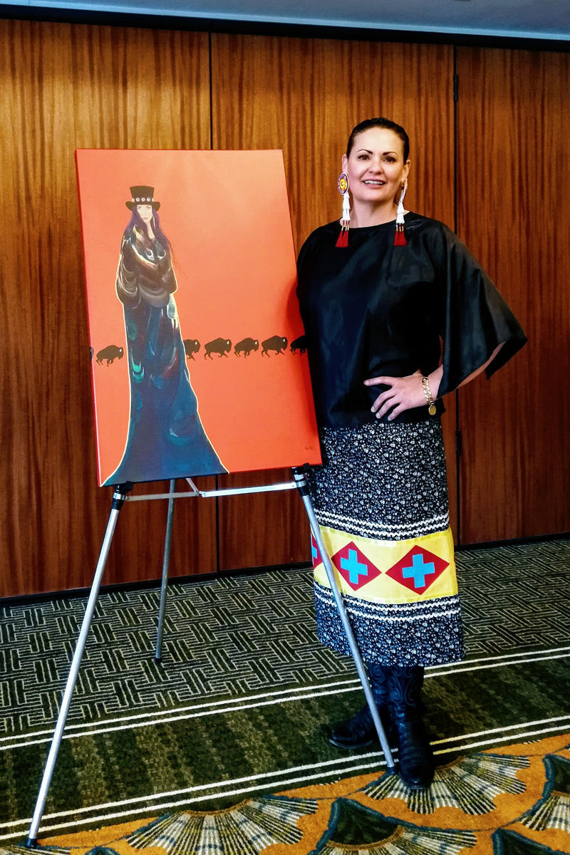 Native American Artists Honor Traditions Add Contemporary Twists At Yellowstone Mtpr