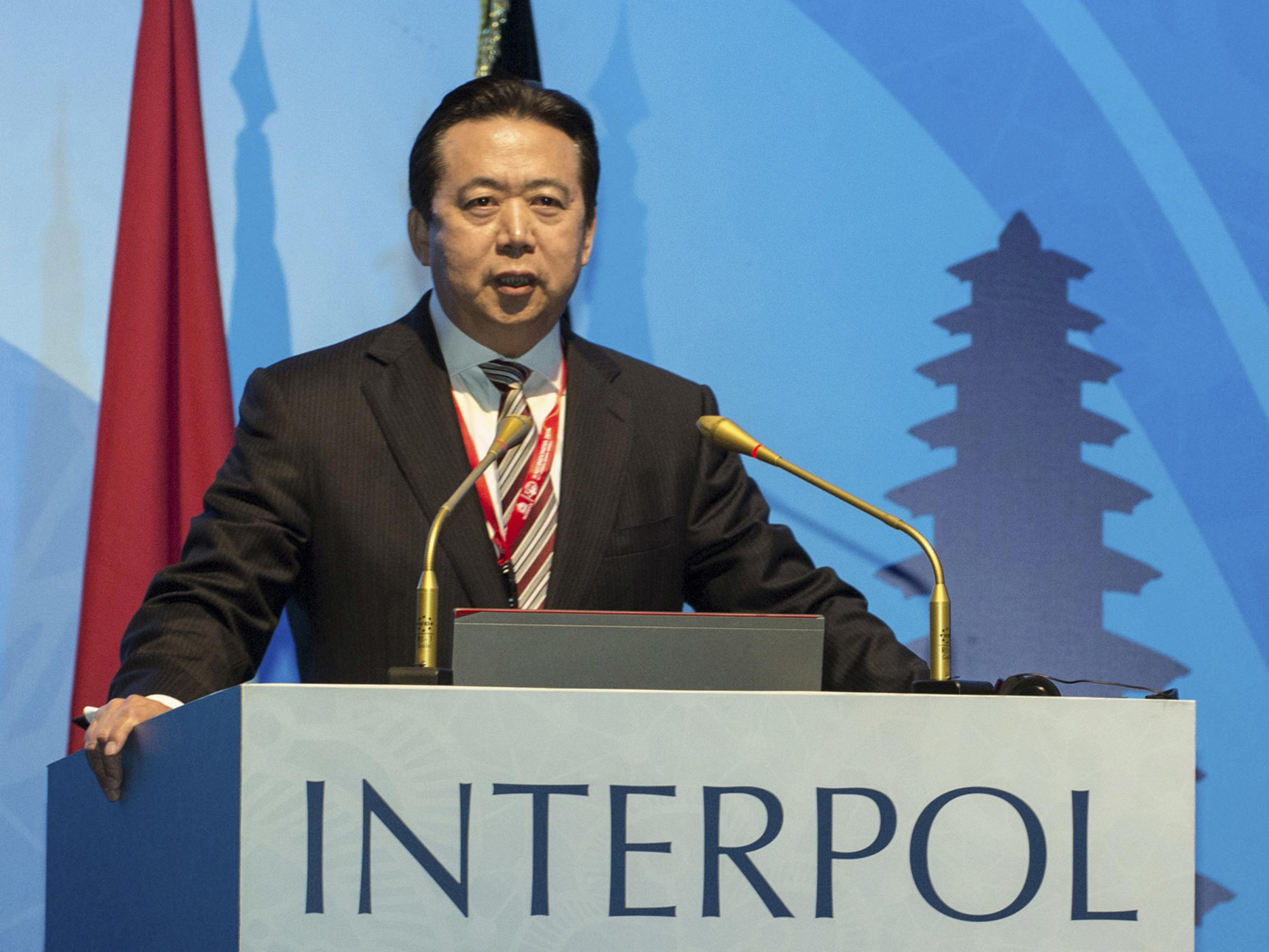 Former Interpol President Pleads Guilty To Bribery In Chinese Court
