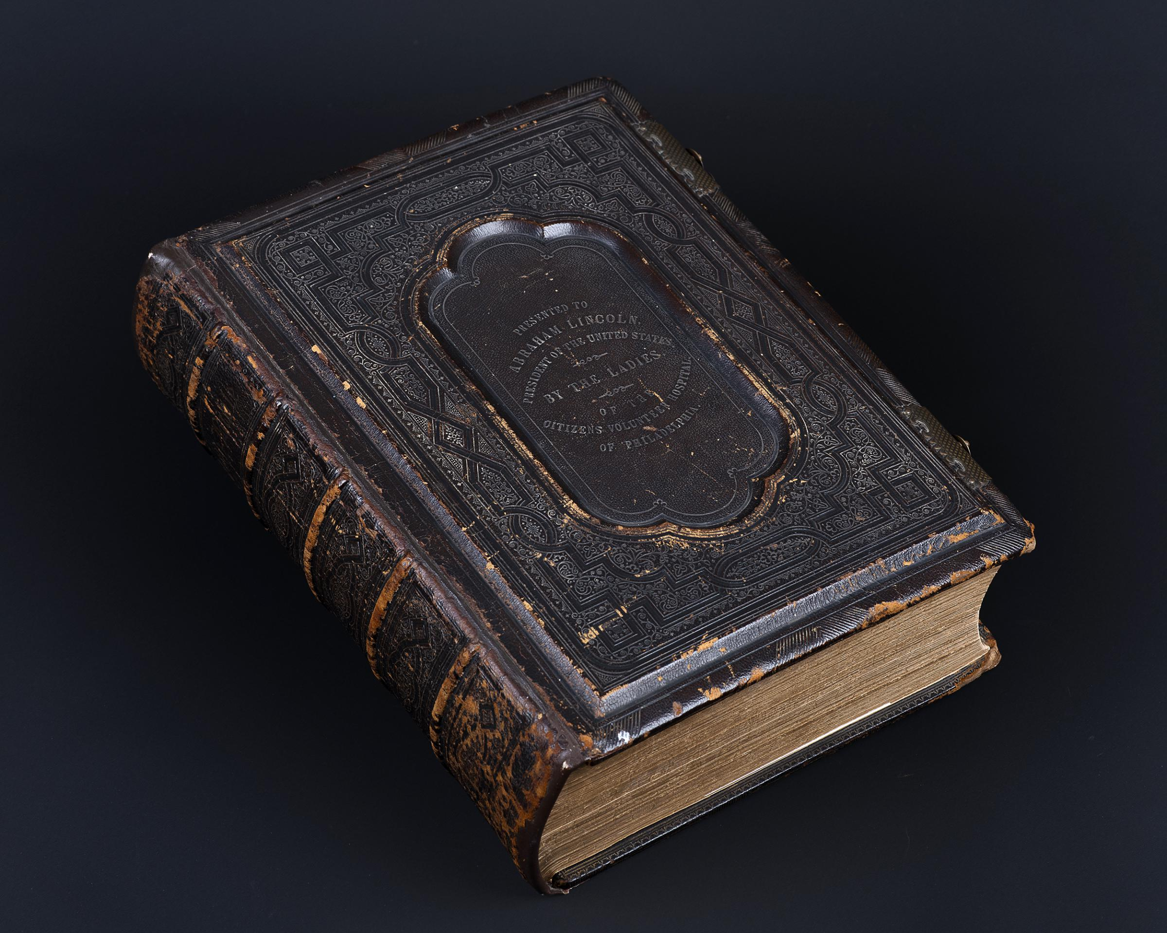 A New Lincoln Bible Unveiled To The Public For The First