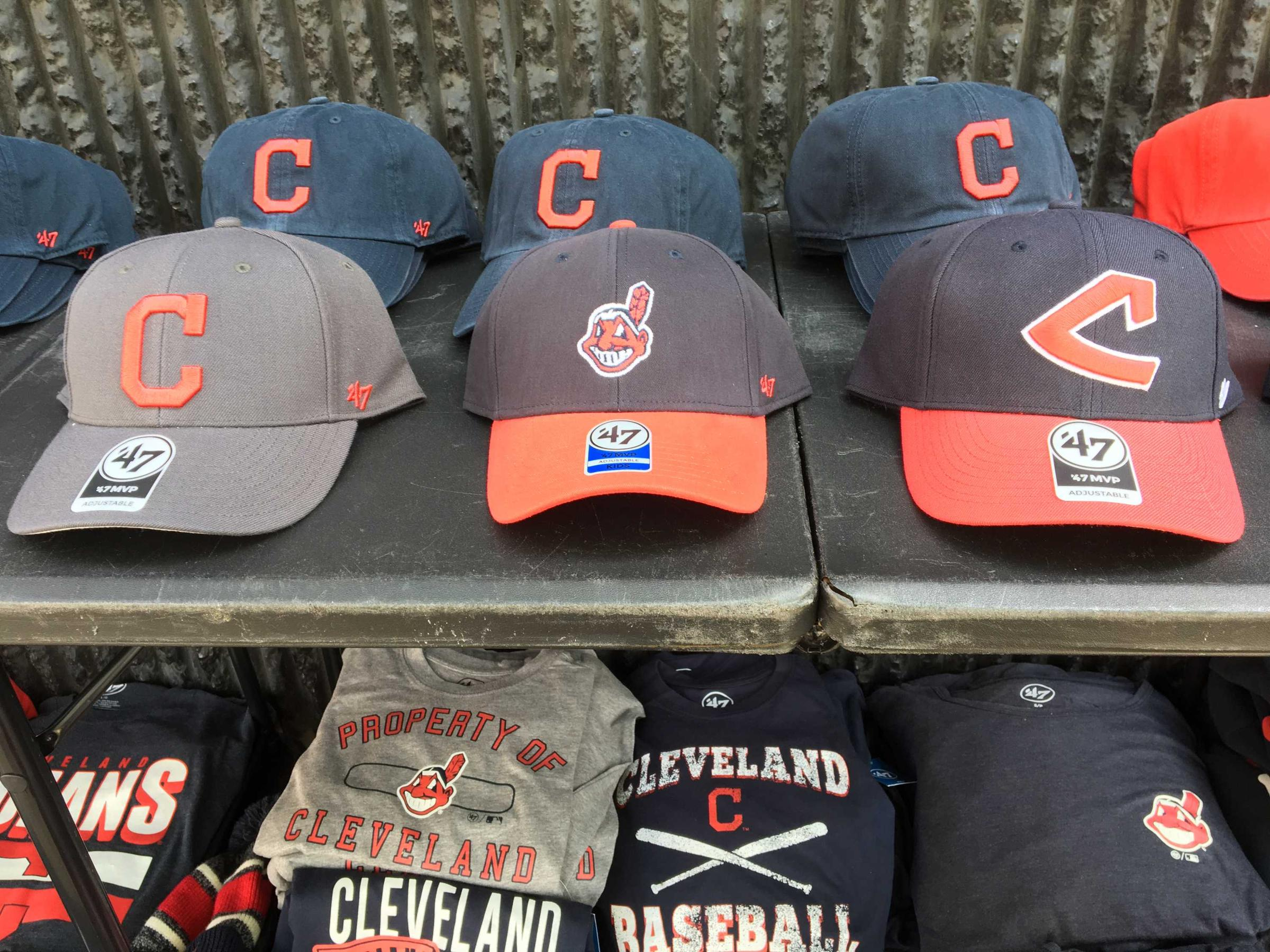 81e9d952d76c86 Ejected From the Field, Chief Wahoo's Still A Hot Seller | WOSU Radio