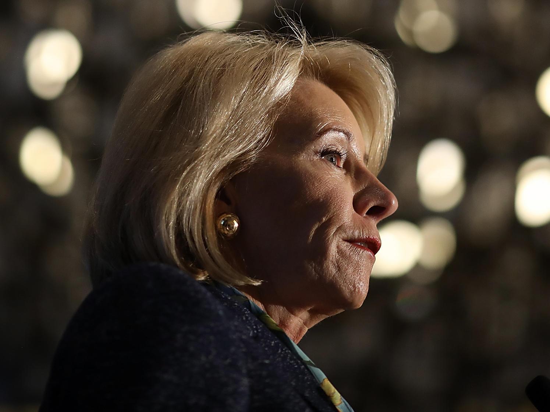 Special Education Chiefs To Devos Dont >> Devos To Rescind Obama Era Guidance On School Discipline Kosu