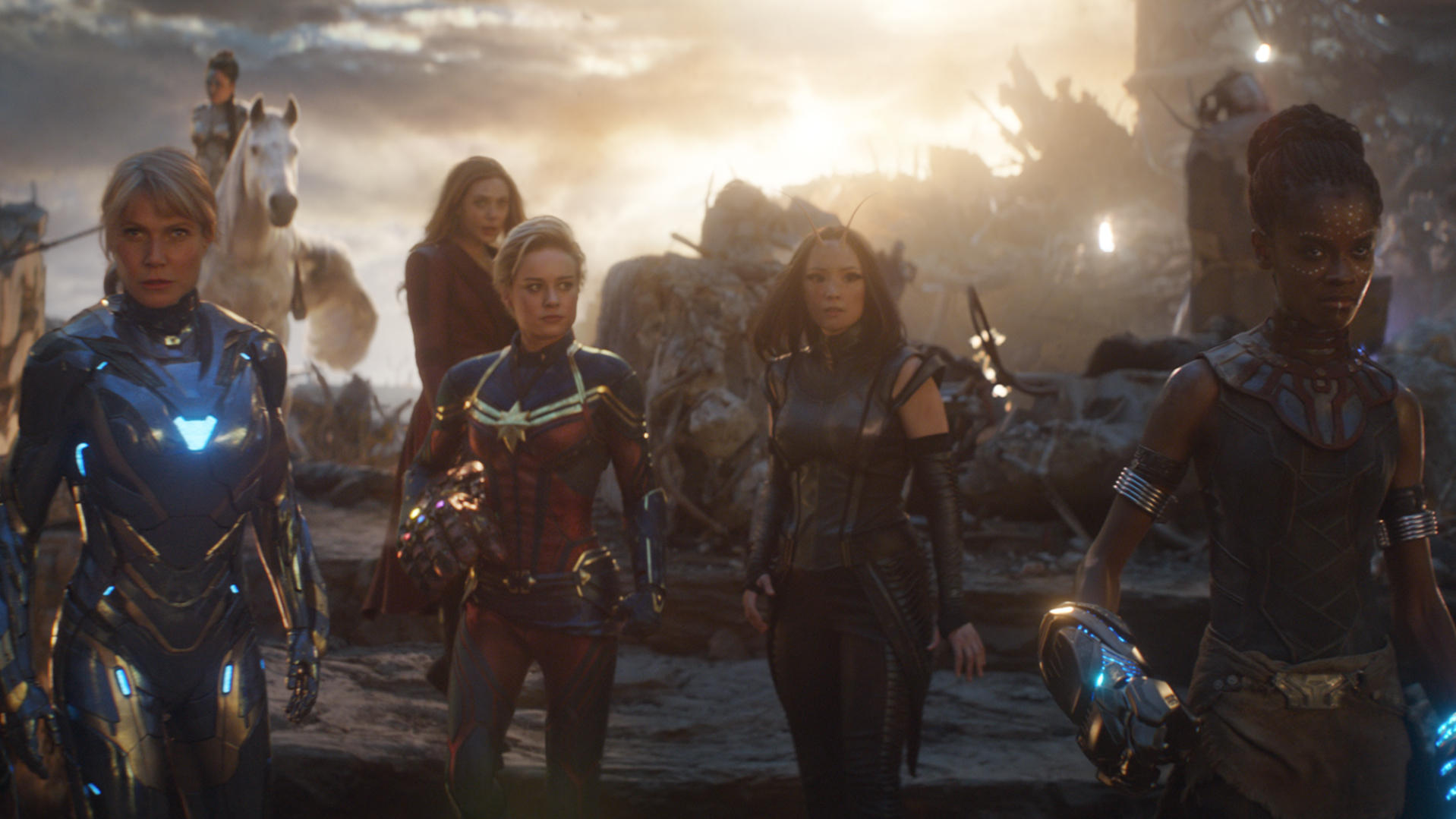 Avengers,' But Make It Without Women, Or Men Hugging, Or
