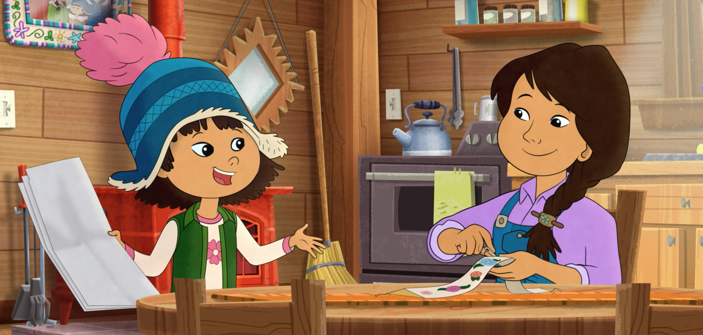 Now Starring In Children's Cartoons: Authentic Indigenous Characters