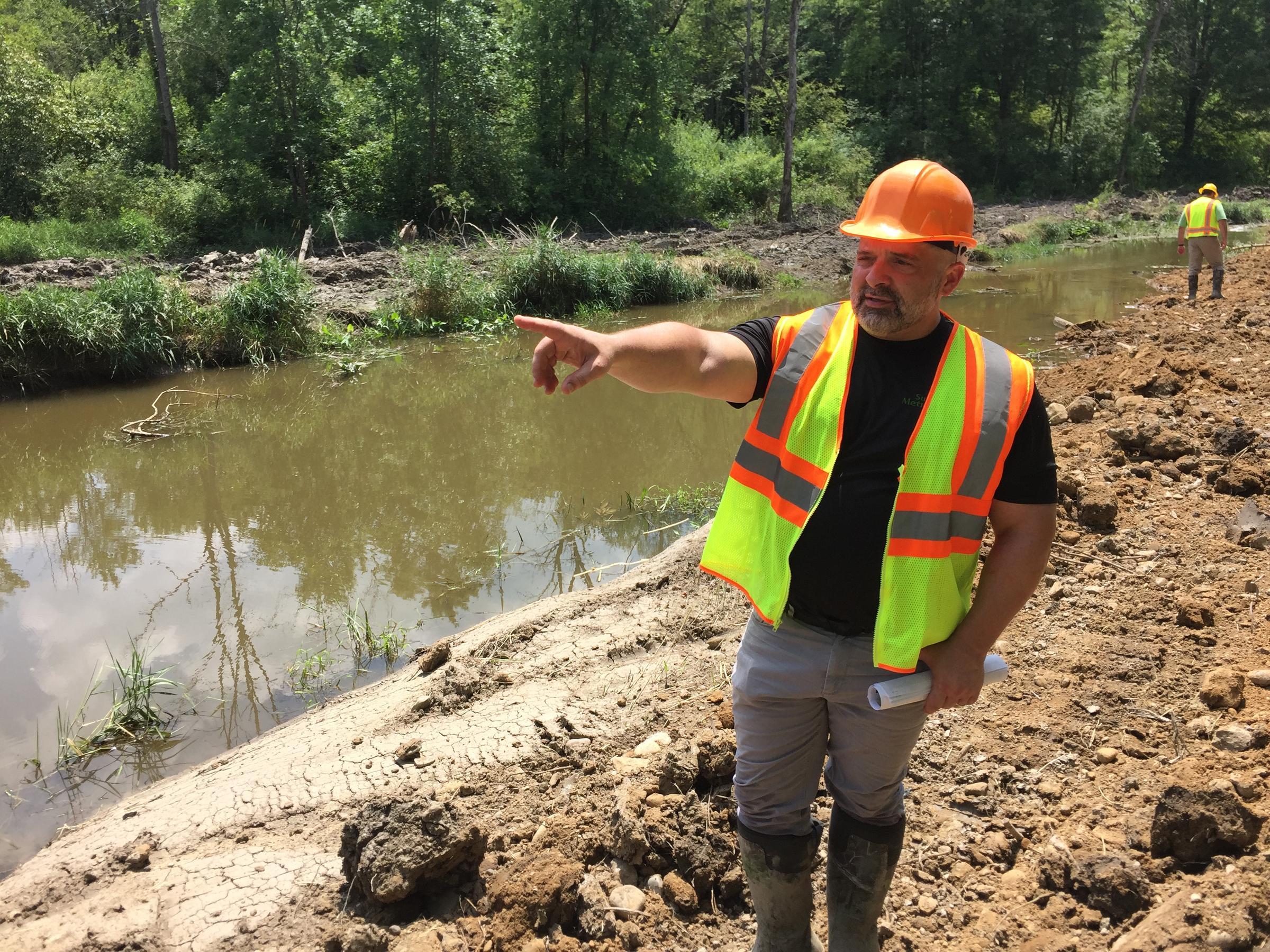 Blue Water High Cast fifteen year, $7 million dollar parks restoration project