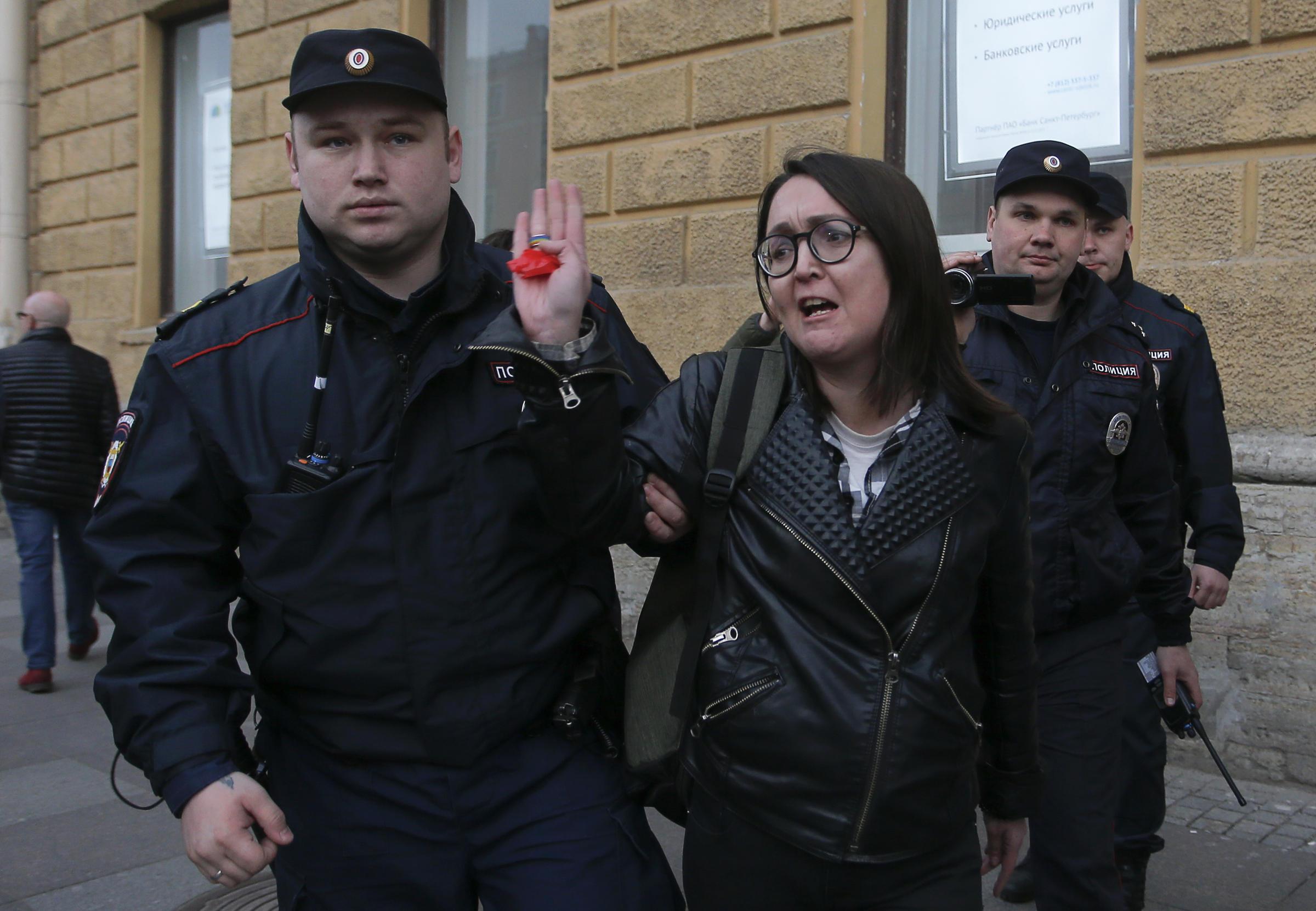 St Petersburg murder victim was 'well-known LGBT rights activist'
