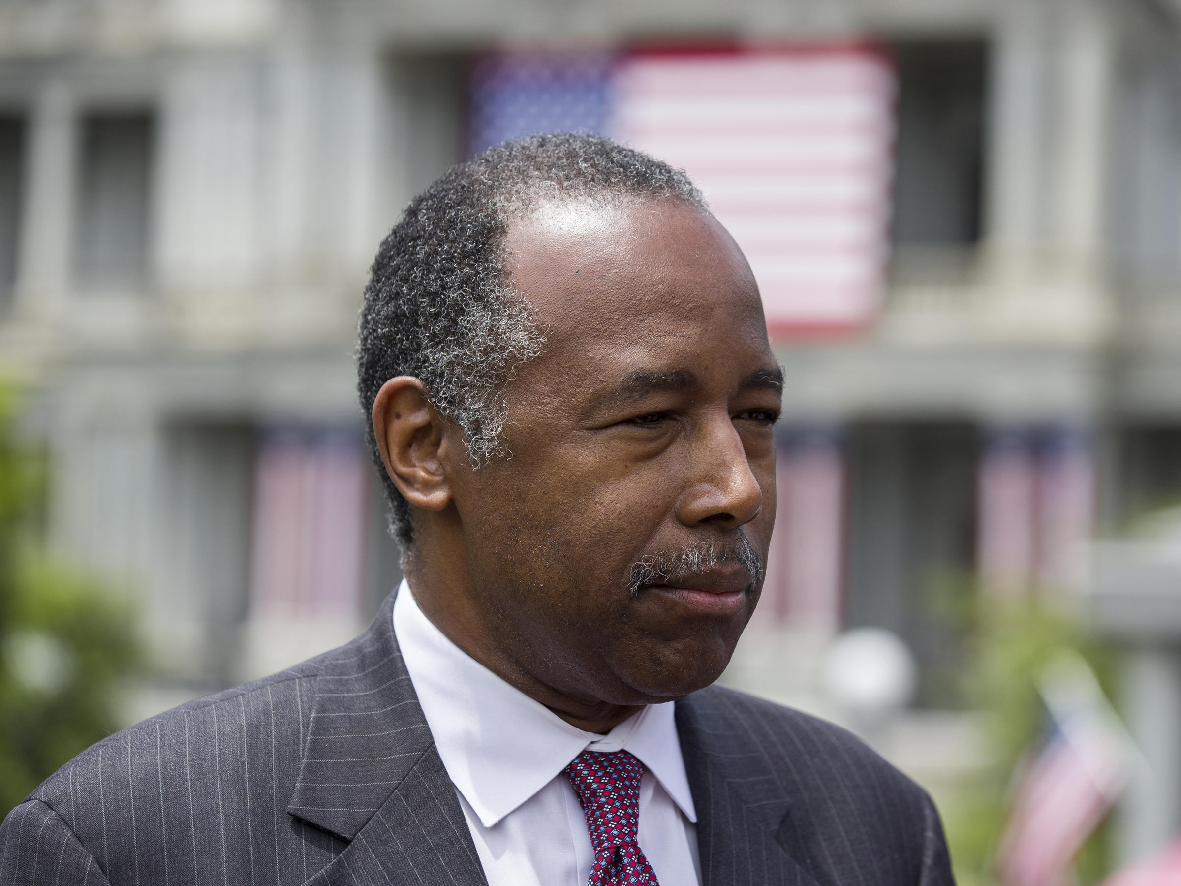 HUD Secretary Carson Compares Baltimore's Problems to Cancer