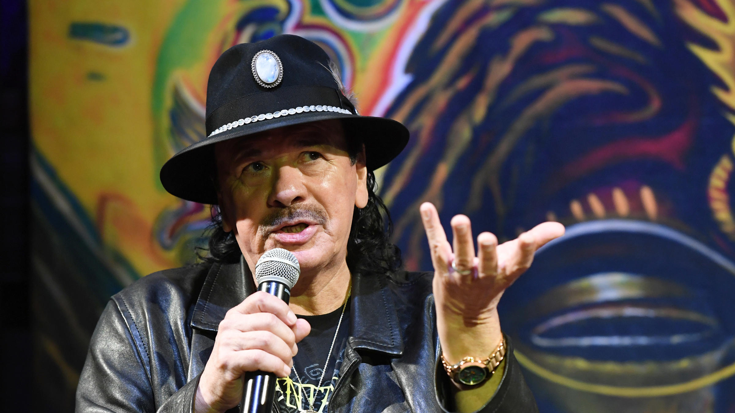 For Santana, 'Africa Speaks' Album Is About 'Manifesting