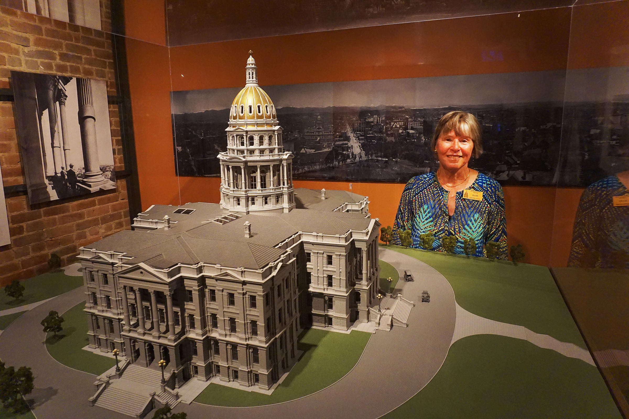 Ellen Stanton Loves Taking Tourists Back In Time At State Capitol