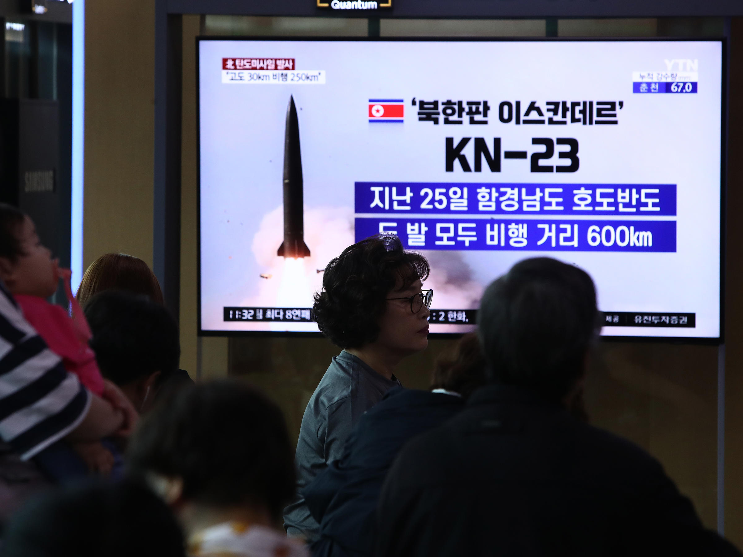 North Korea Conducts 3rd Missile Test Since Last Week Amid Stalled
