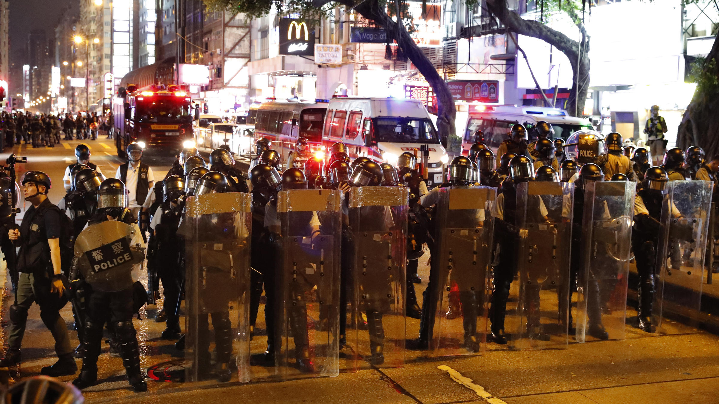 Hong Kong Police Fire Tear Gas As Demonstrations Continue | KOSU