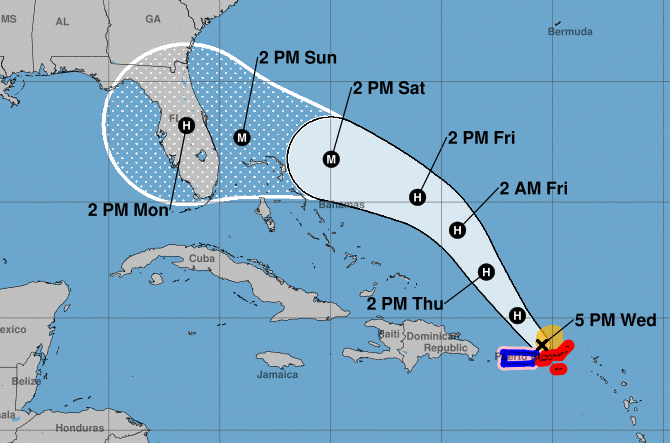 Hurricane Dorian: Florida declares state of emergency as it waits storm's arrival