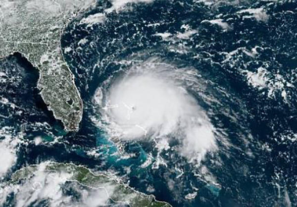 East coast of Florida waits for Hurricane Dorian's turn