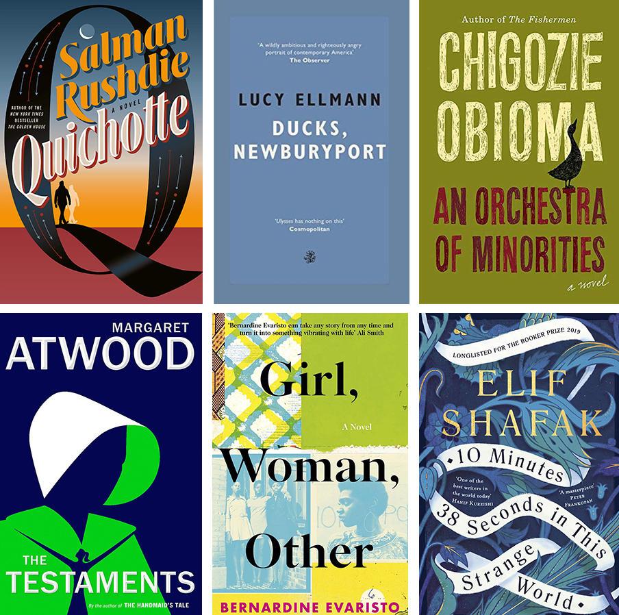 Margaret Atwood, Salman Rushdie Headline 2019 Booker Prize