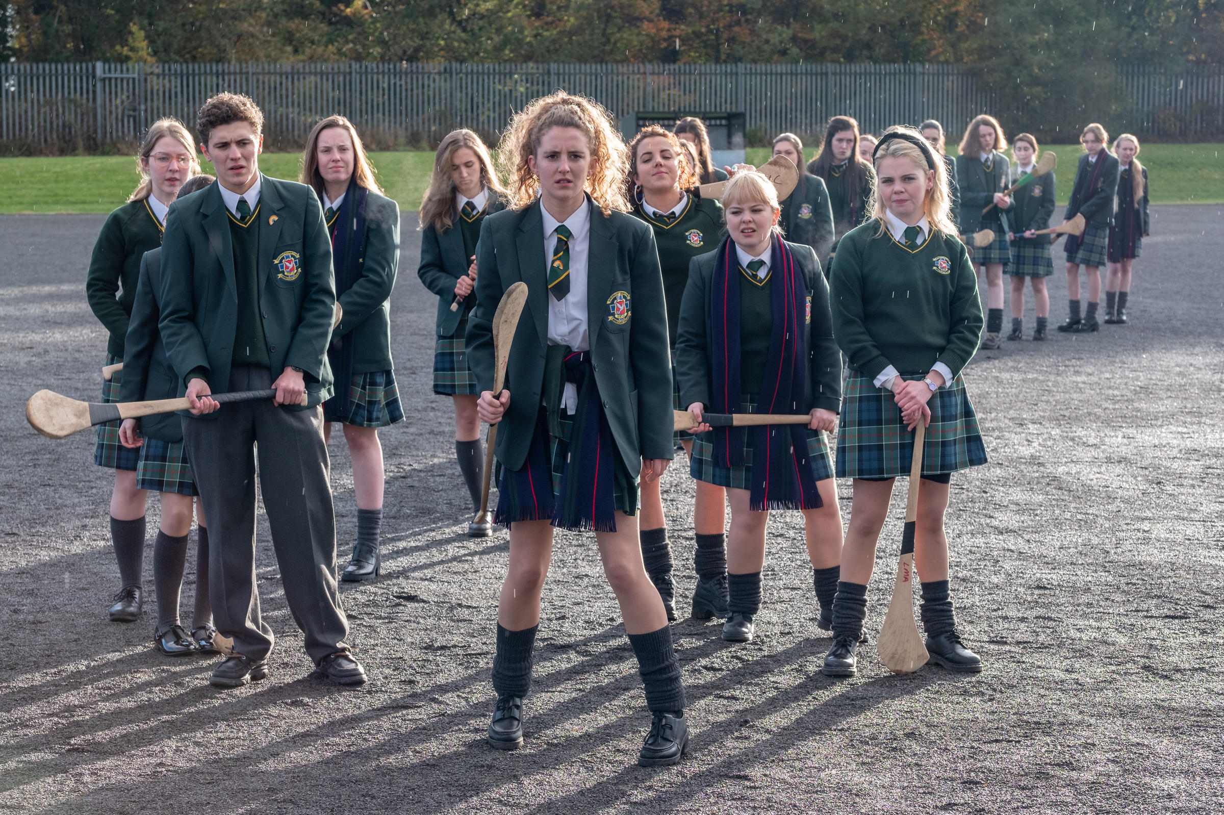 In Northern Ireland, 'Derry Girls' Balances Teen Comedy And