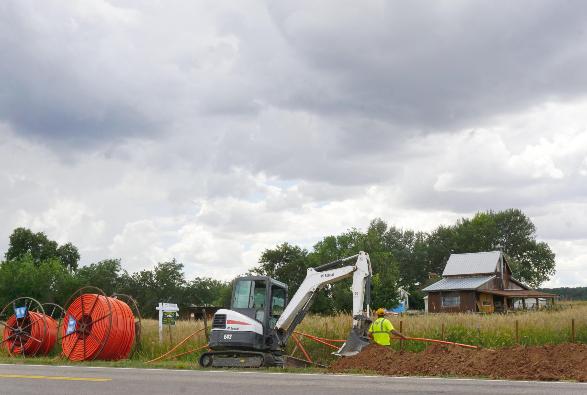Rural Coloradans Have Done Strange Things To Get Internet. For Some, Those Days Are Almost Over