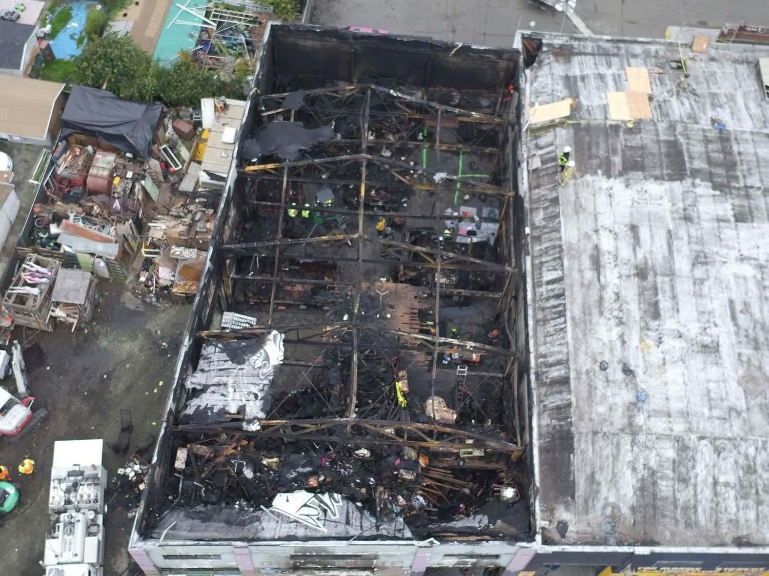 Ghost ship fire: No convictions over 36 deaths in Oakland warehouse