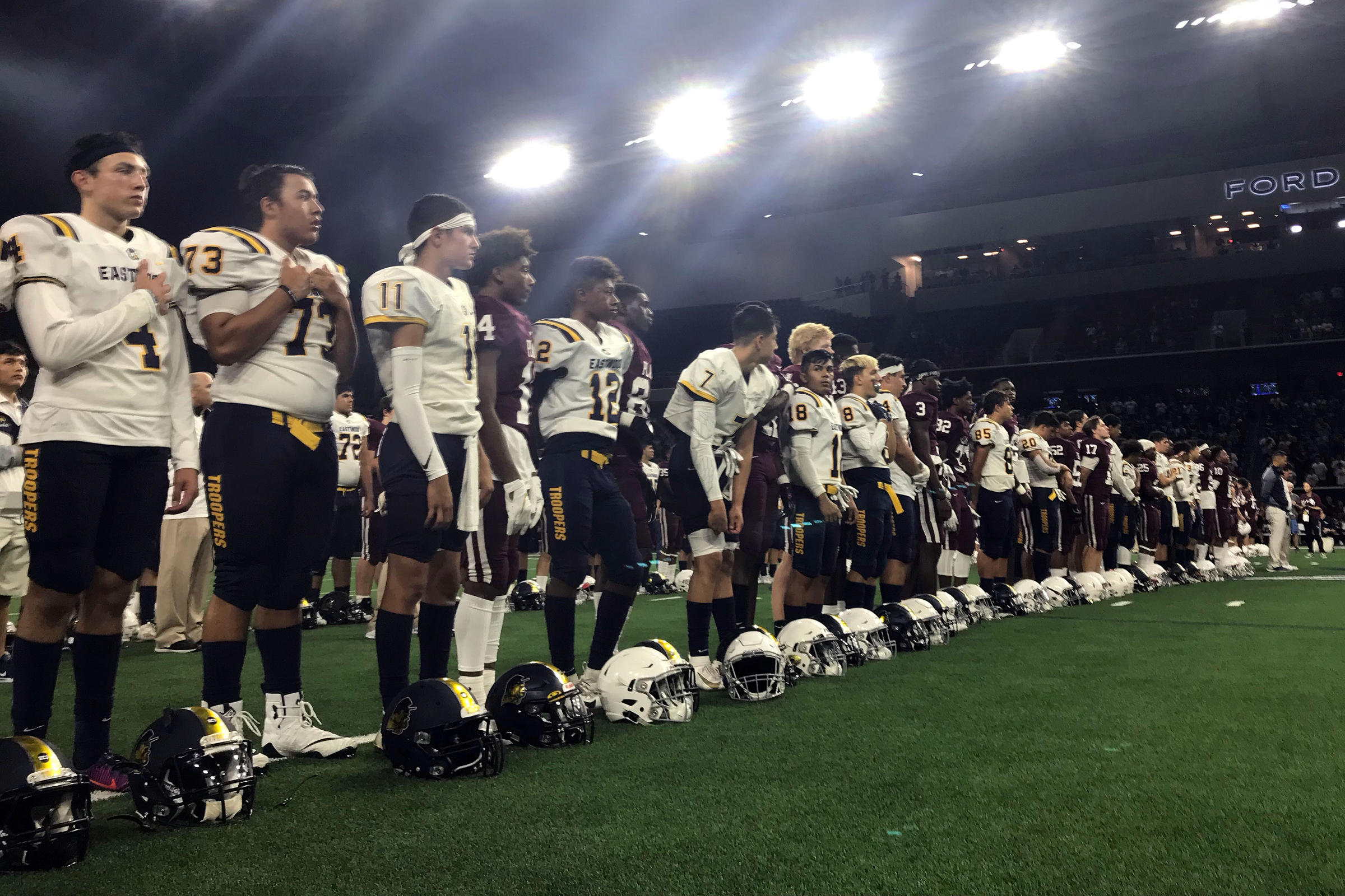 El Paso-Plano Football Game Highlights Unity Over Fear | KUT