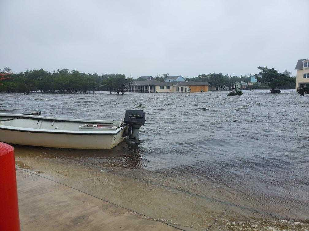 Dorian's Floodwaters Trapped Hundreds In The Outer Banks