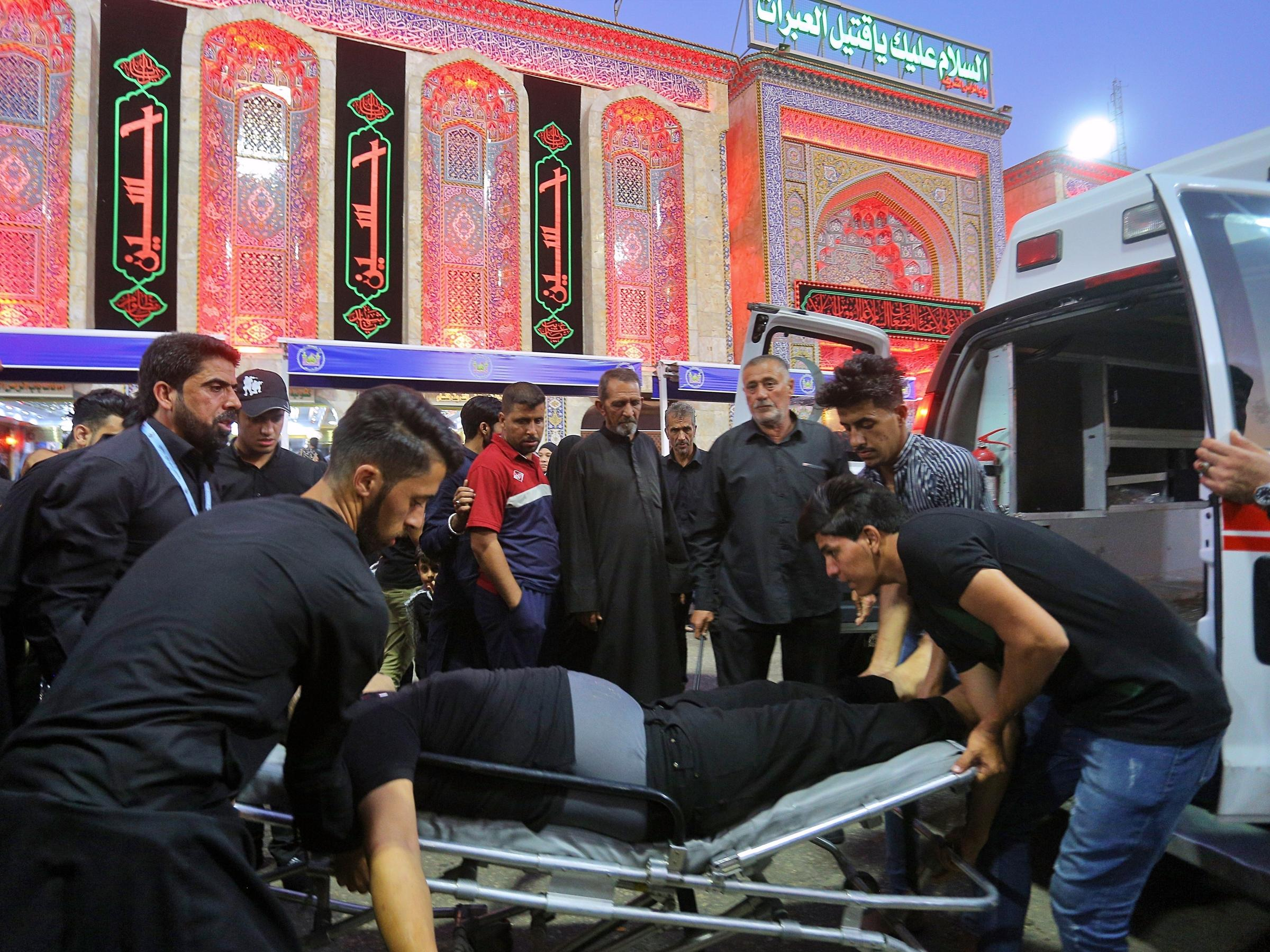 At least 31 dead in Iraq's Karbala stampede