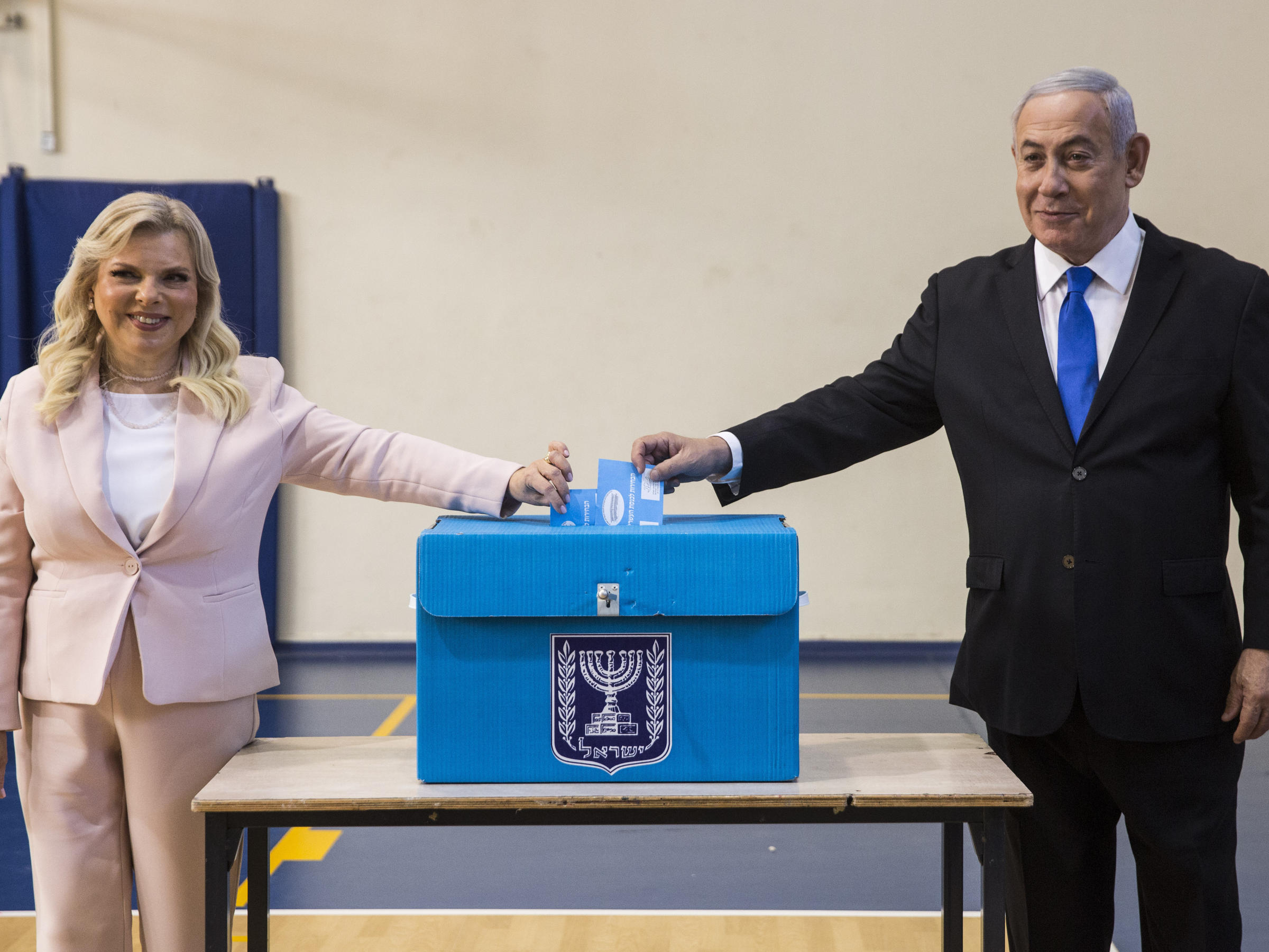 Israelis Go To Polls As Netanyahu Aims To Hold Power Amid Corruption Scandals