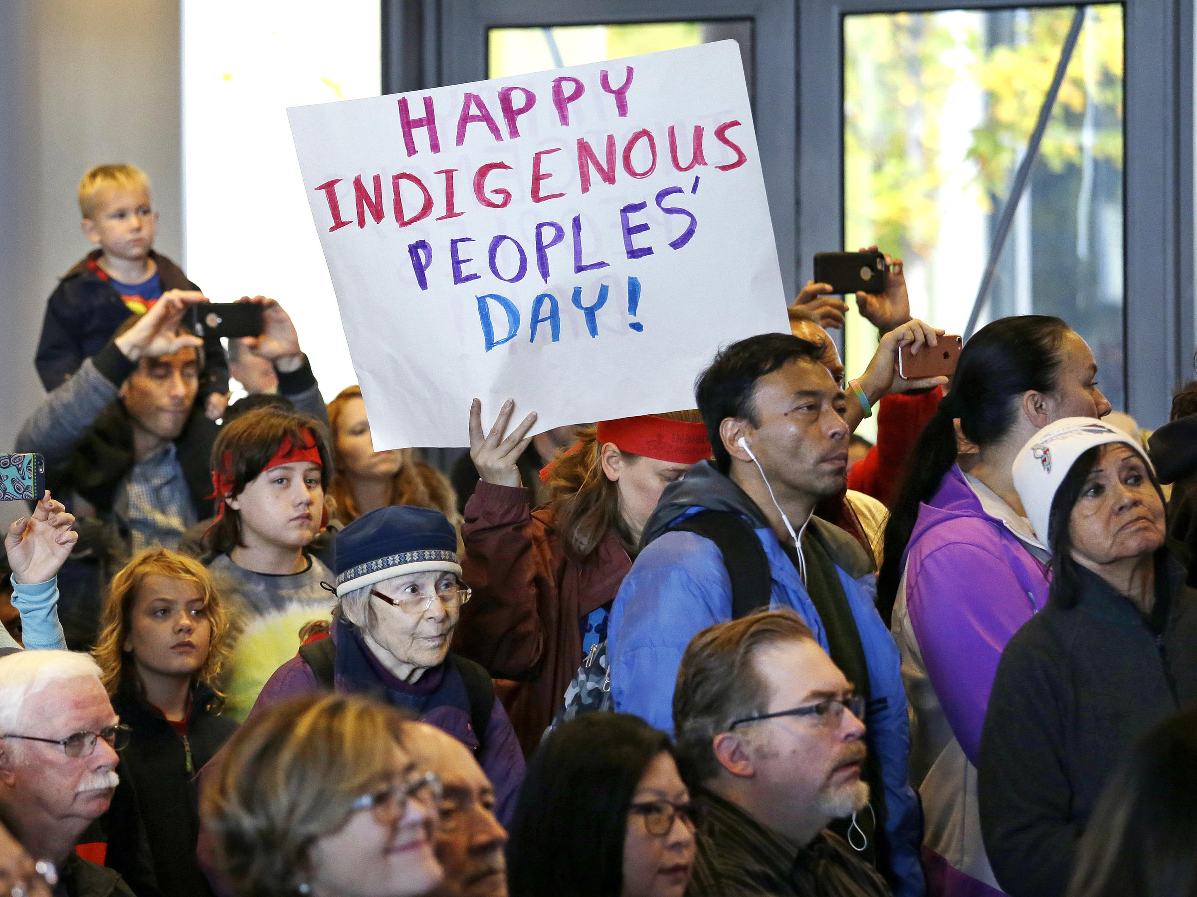 Image result for should indigenous peoples day replace columbus day pennlive