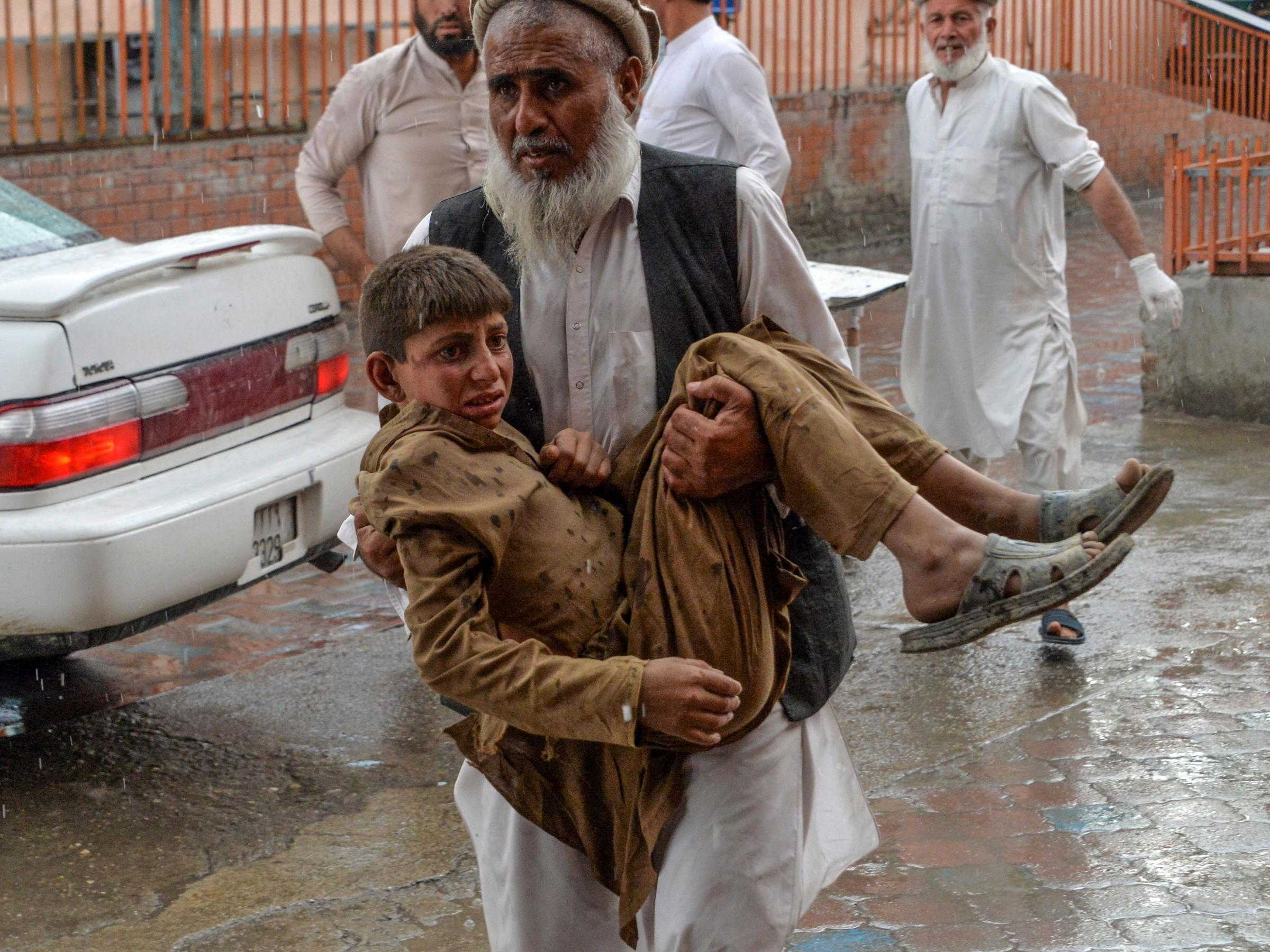 Explosions At Mosque Kill At Least 62 People In Afghanistan