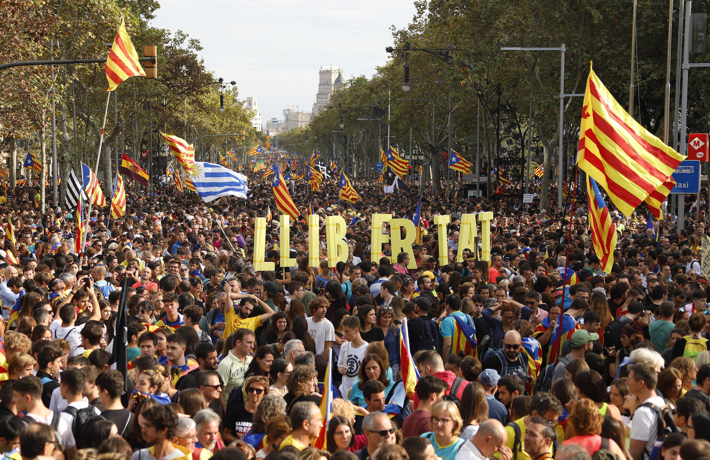 Protests Rock Spain's Catalonia Region But Residents Are Divided Over Independence