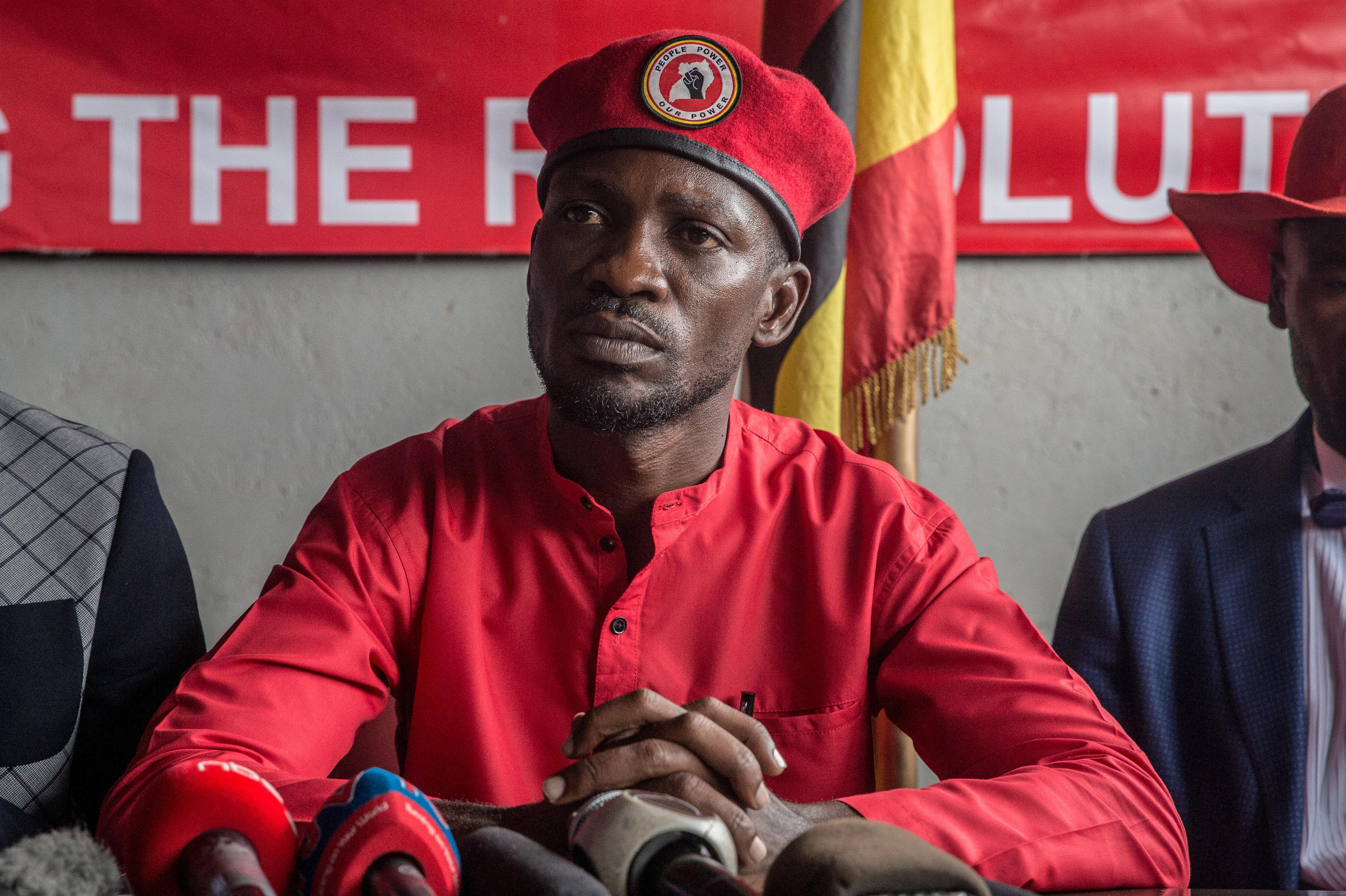 Bobi Wine is not happy with some artists