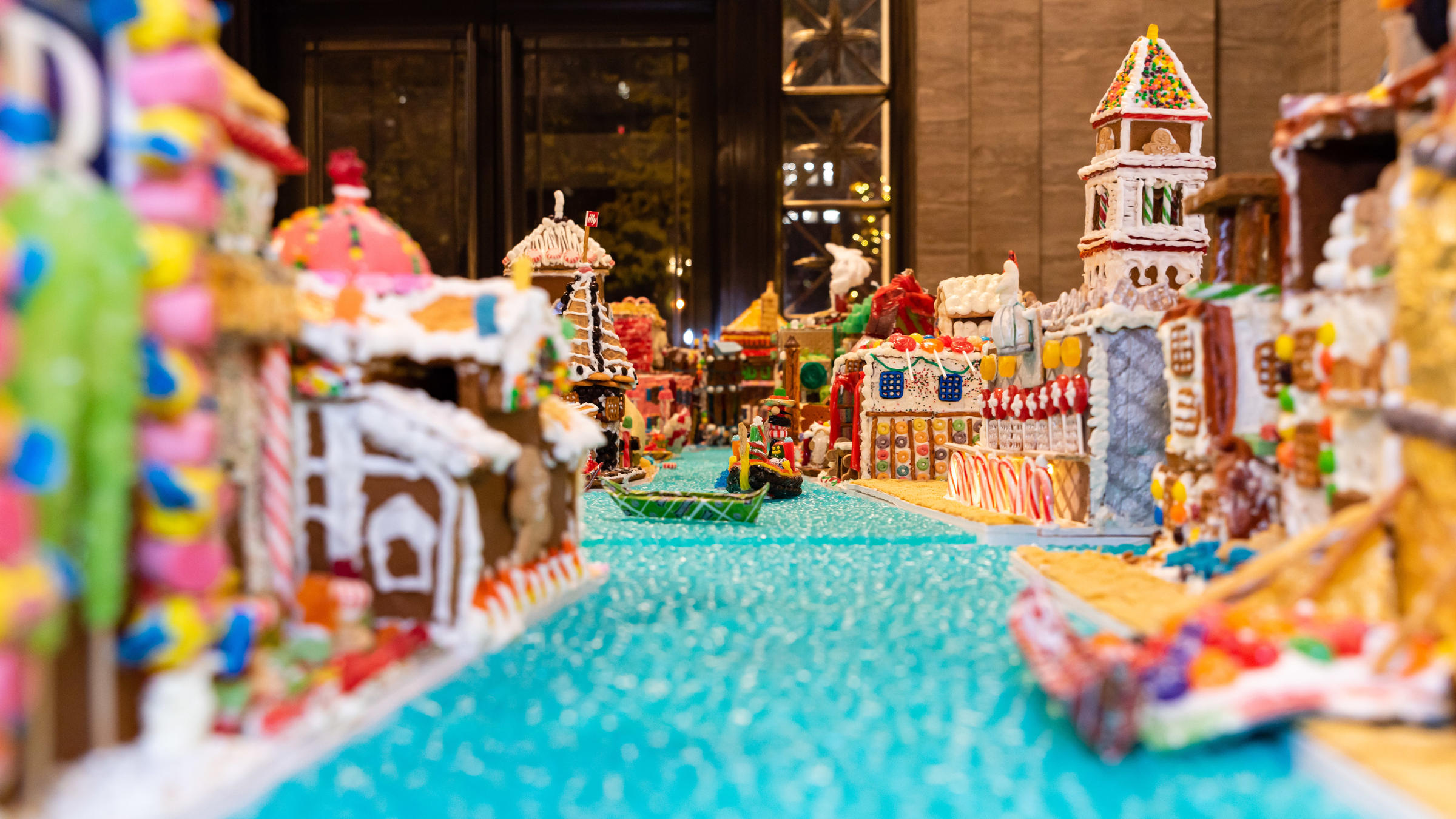Candy Canals: Architects Craft Gingerbread Replica Of Venice