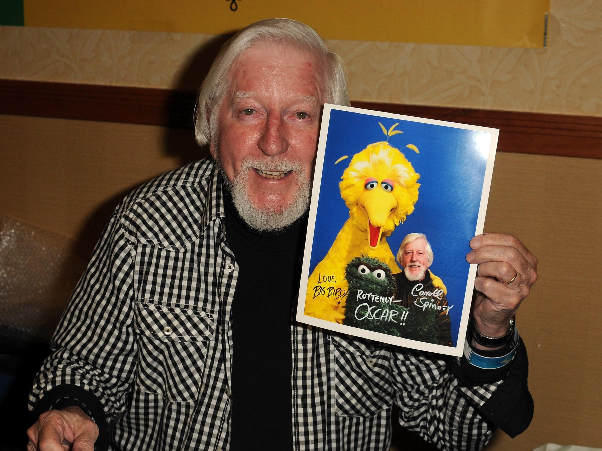 Caroll Spinney, Who Played Big Bird And Oscar On 'Sesame Street,' Dies At 85