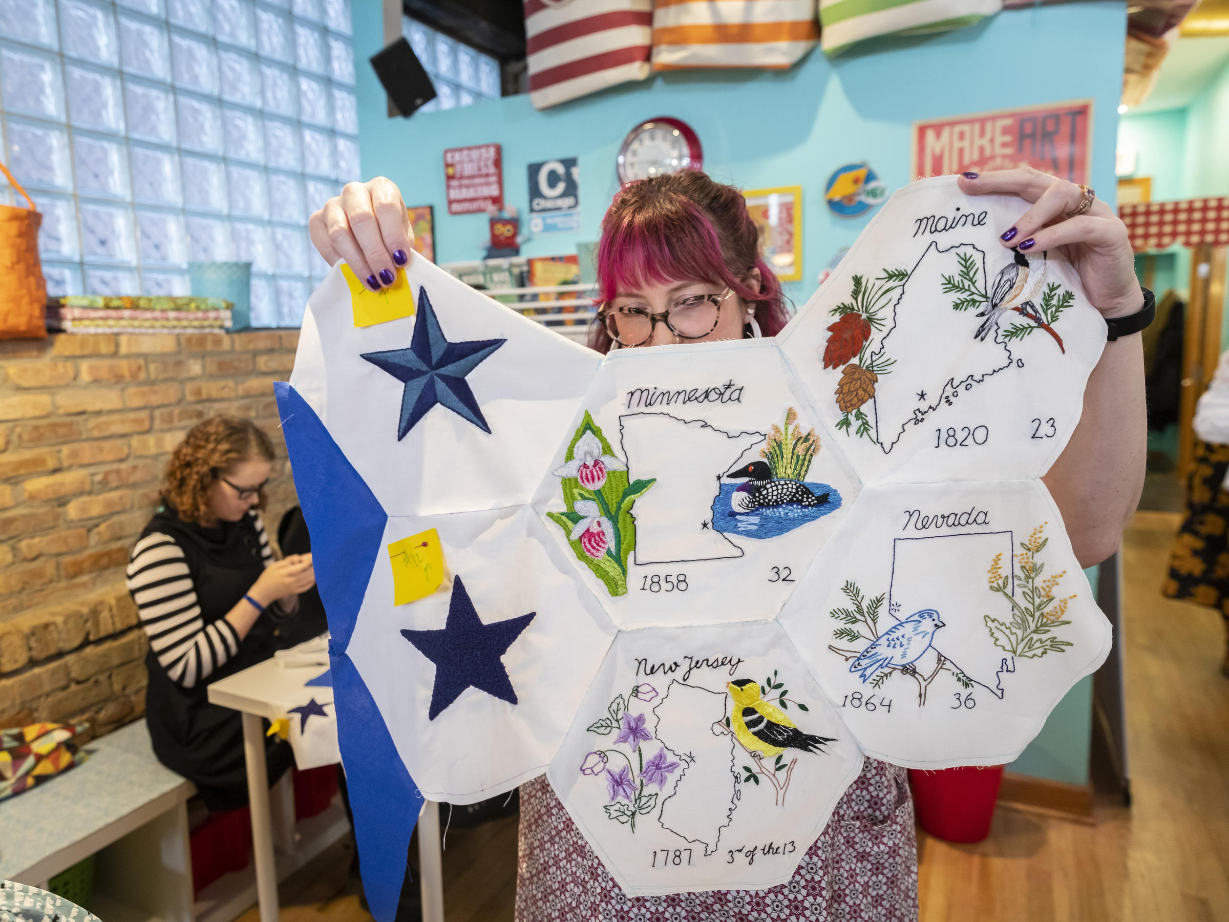 Quilters Across The U.S. Answer Call To Help Sew Up Unfinished Project