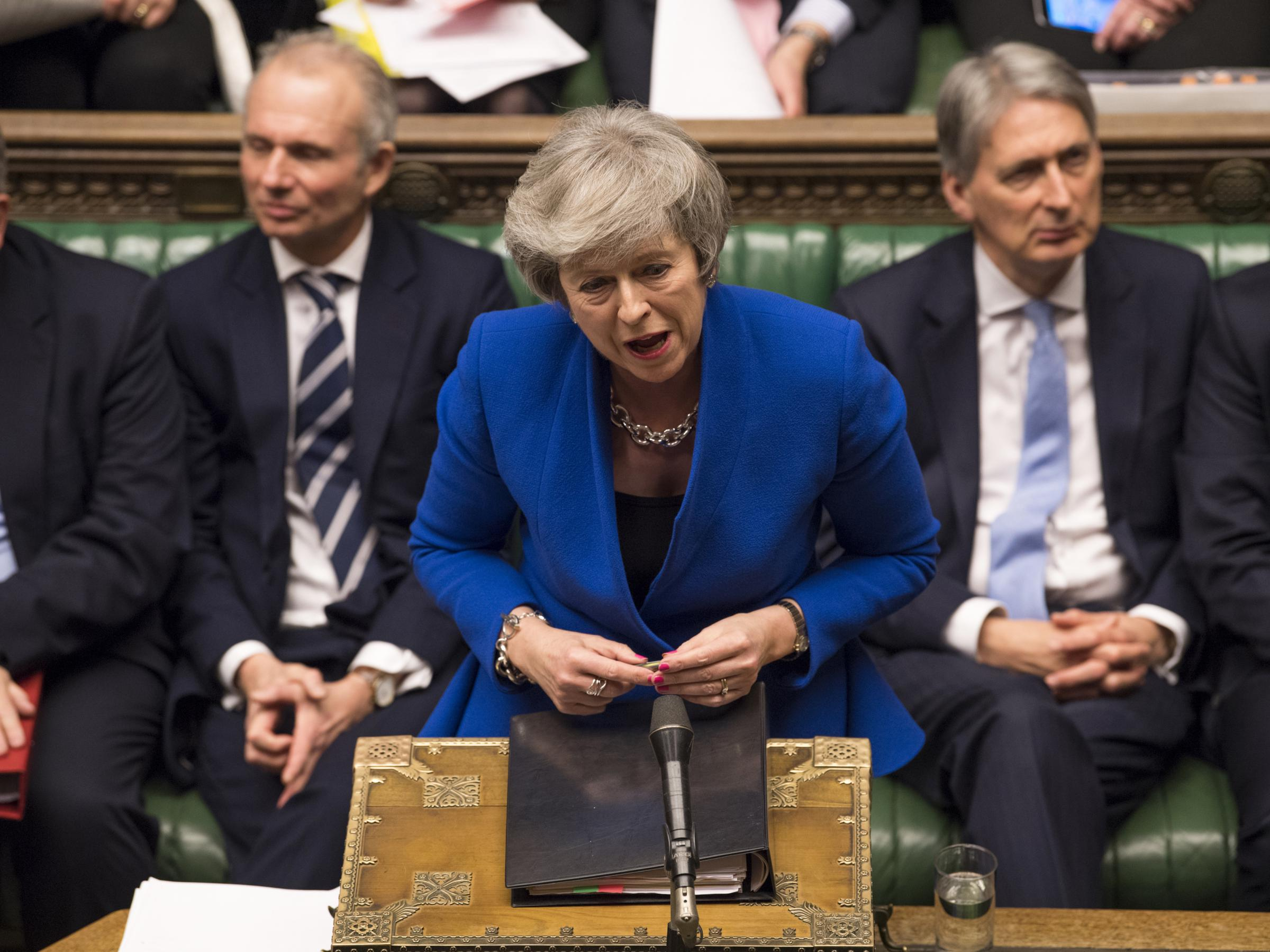 Amid Brexit Chaos Theresa May S Government Survives Confidence