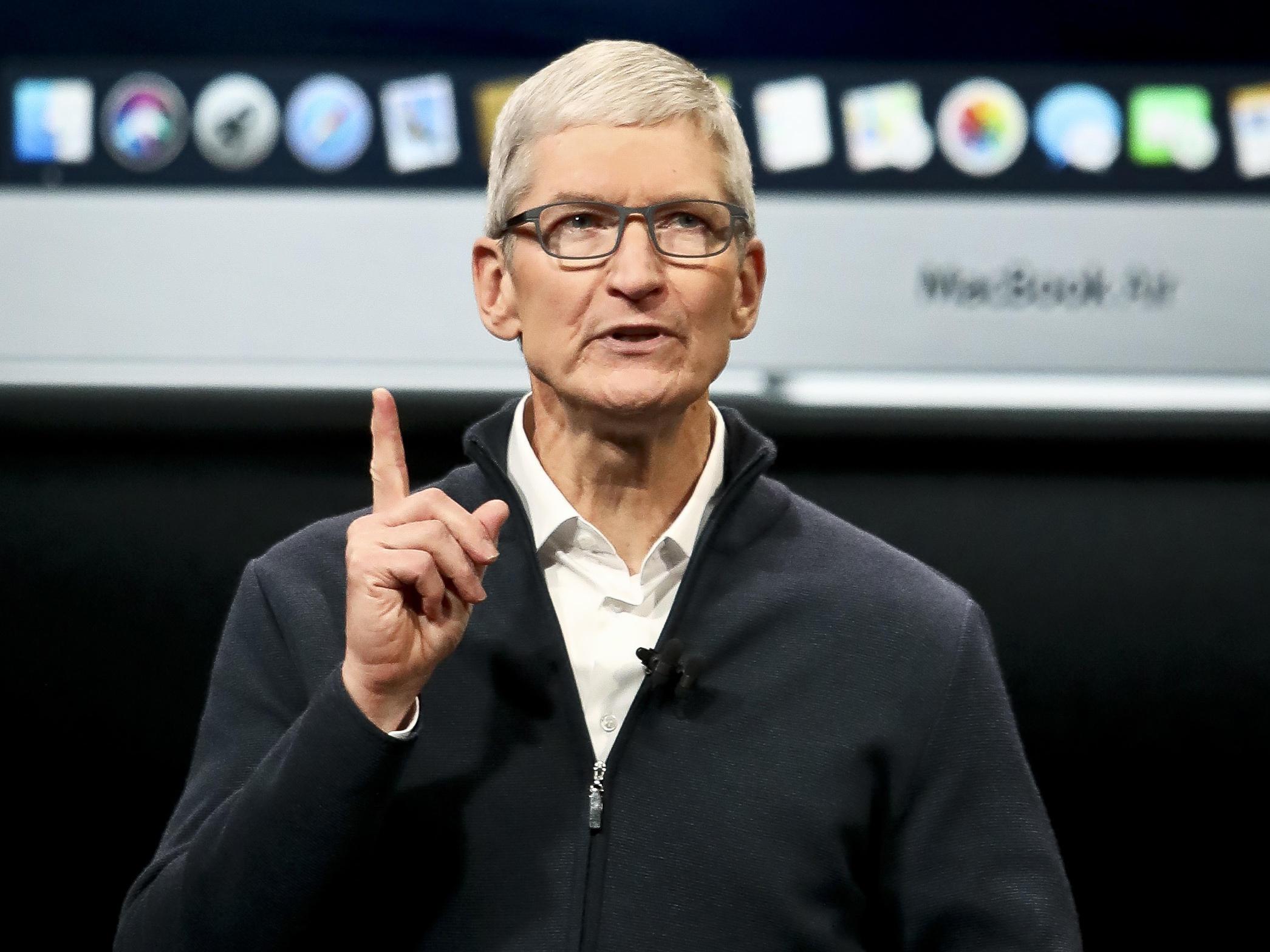 Apple CEO Tim Cook Optimistic About U.S.-China Trade Talks | New Hampshire  Public Radio