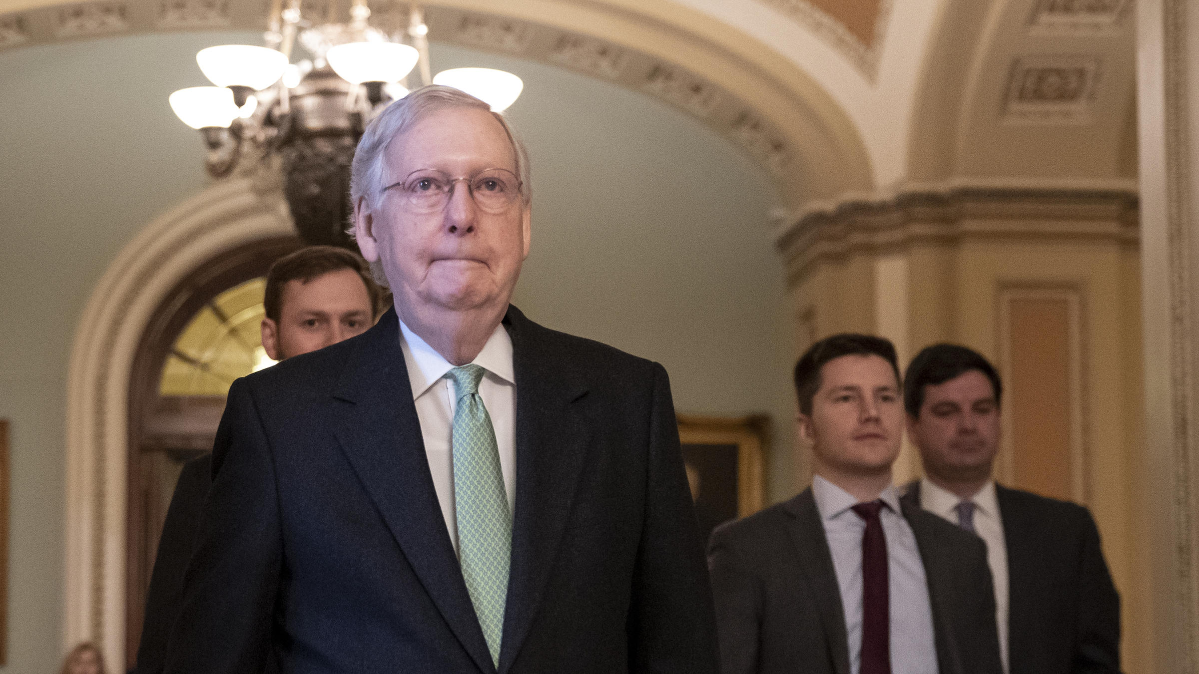 McConnell: 'I'm Not Impartial' About Impeachment