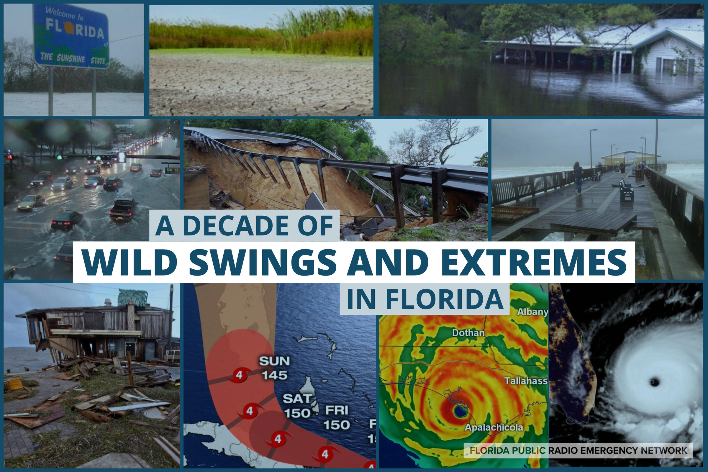 It Was a Decade of Wild Swings and Weather Extremes in Florida