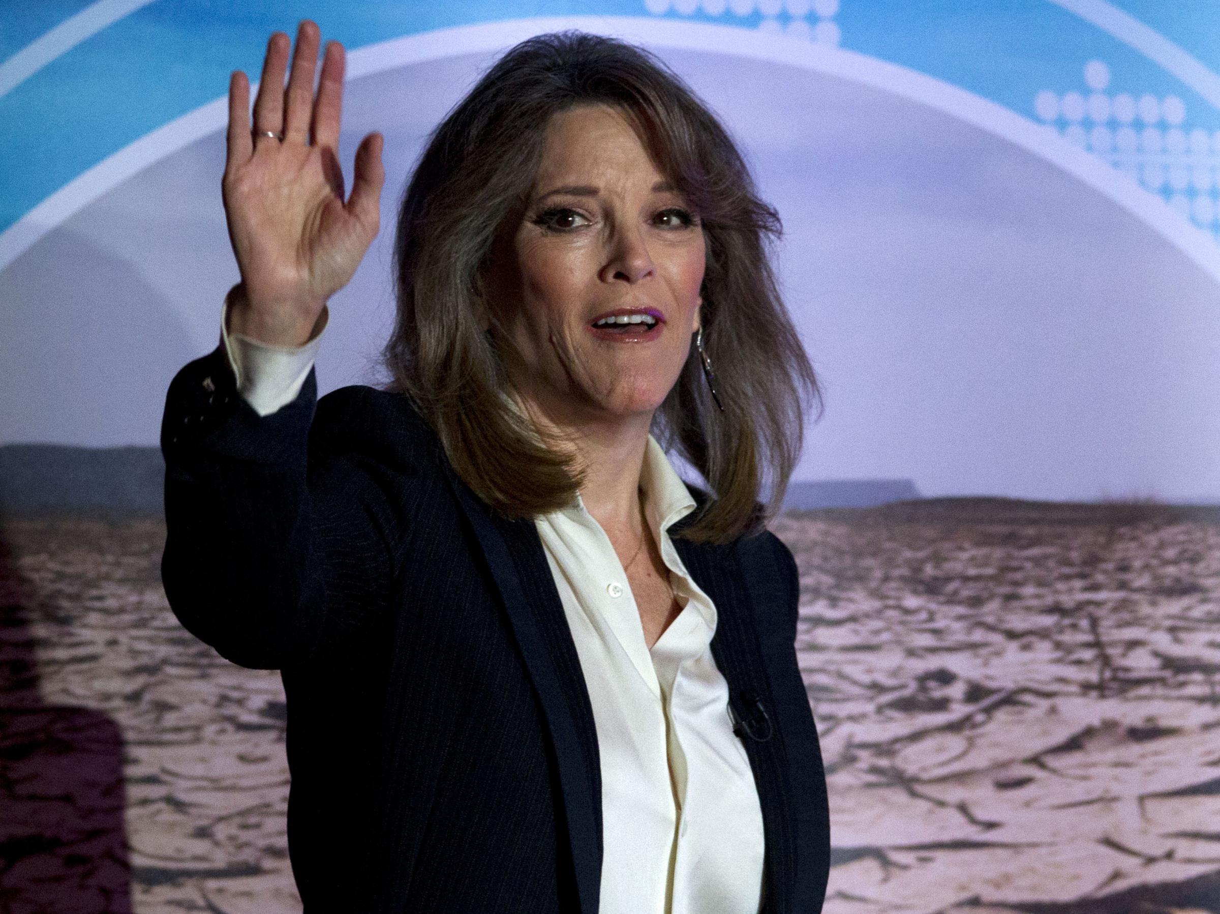 presidential candidate marianne williamson