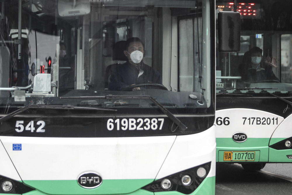 Public Transport In Wuhan Suspended Due To Coronavirus Concerns