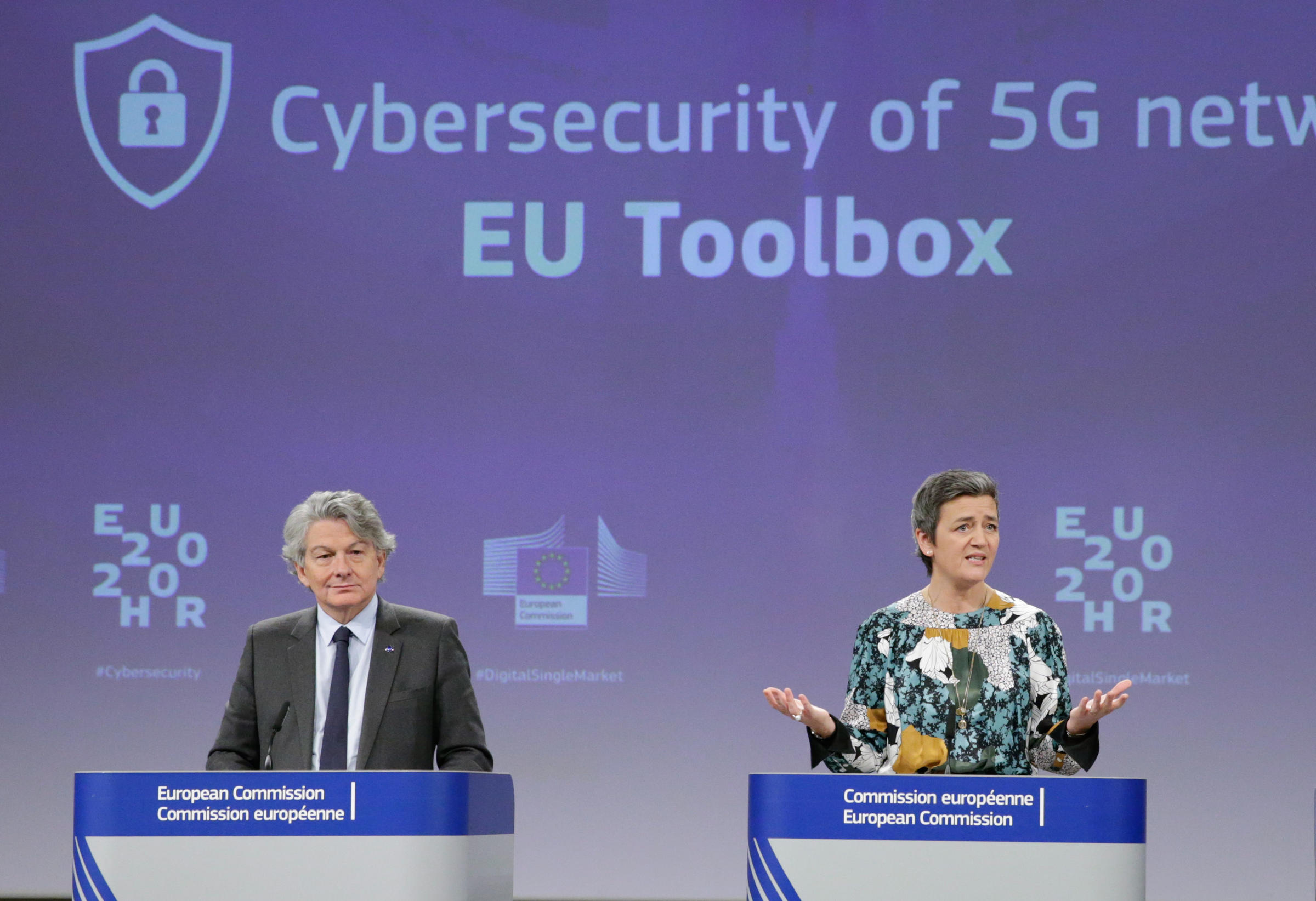 European Union to allow use of Huawei 5G equipment