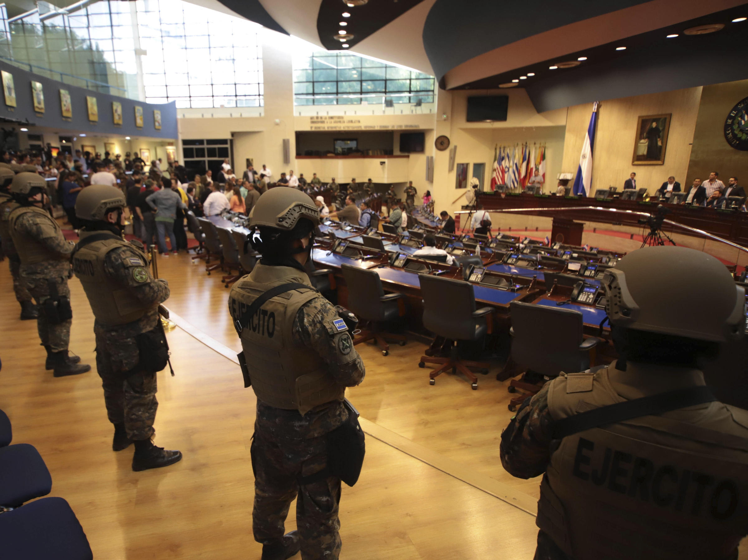 Latin America's Militaries Emerge As Power Brokers, Riot Police And Border Forces