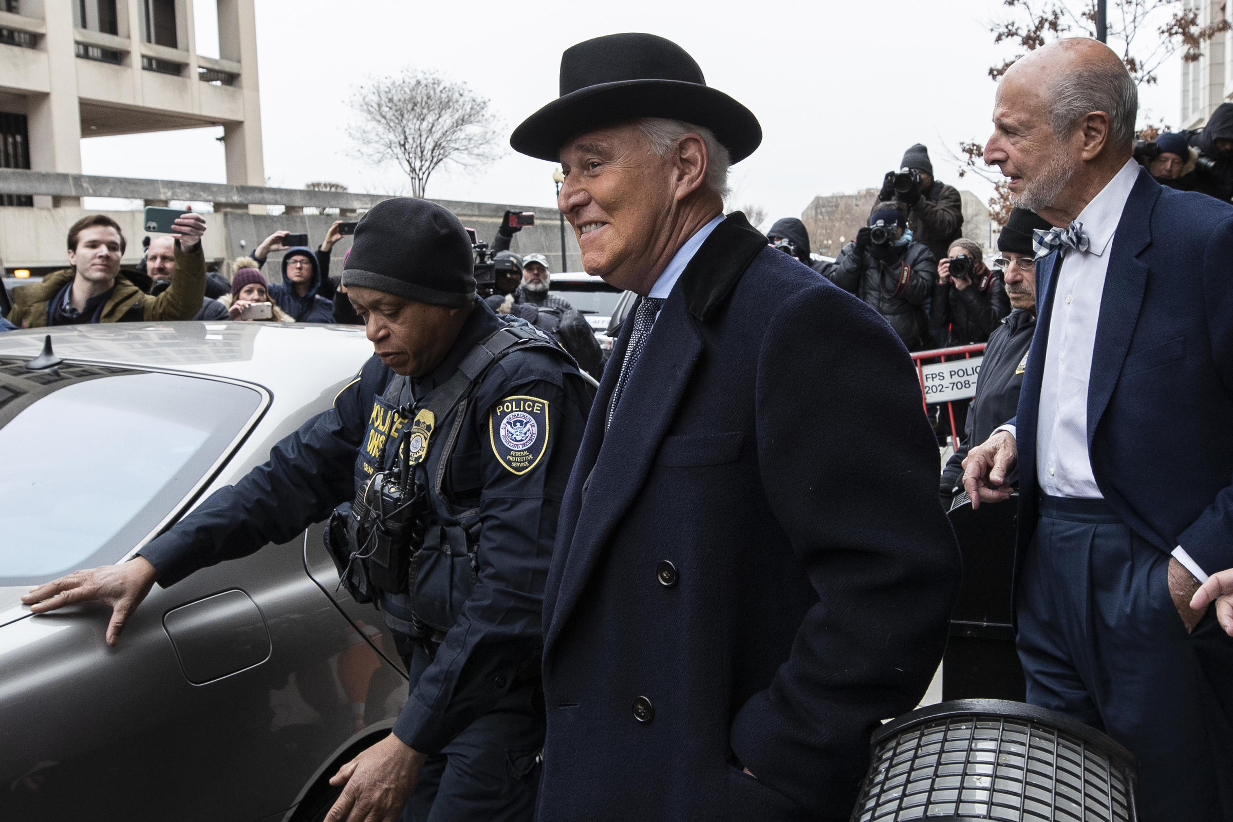 Judge Weighs Roger Stone's Bid For A New Trial As Trump Attacks Her On Twitter