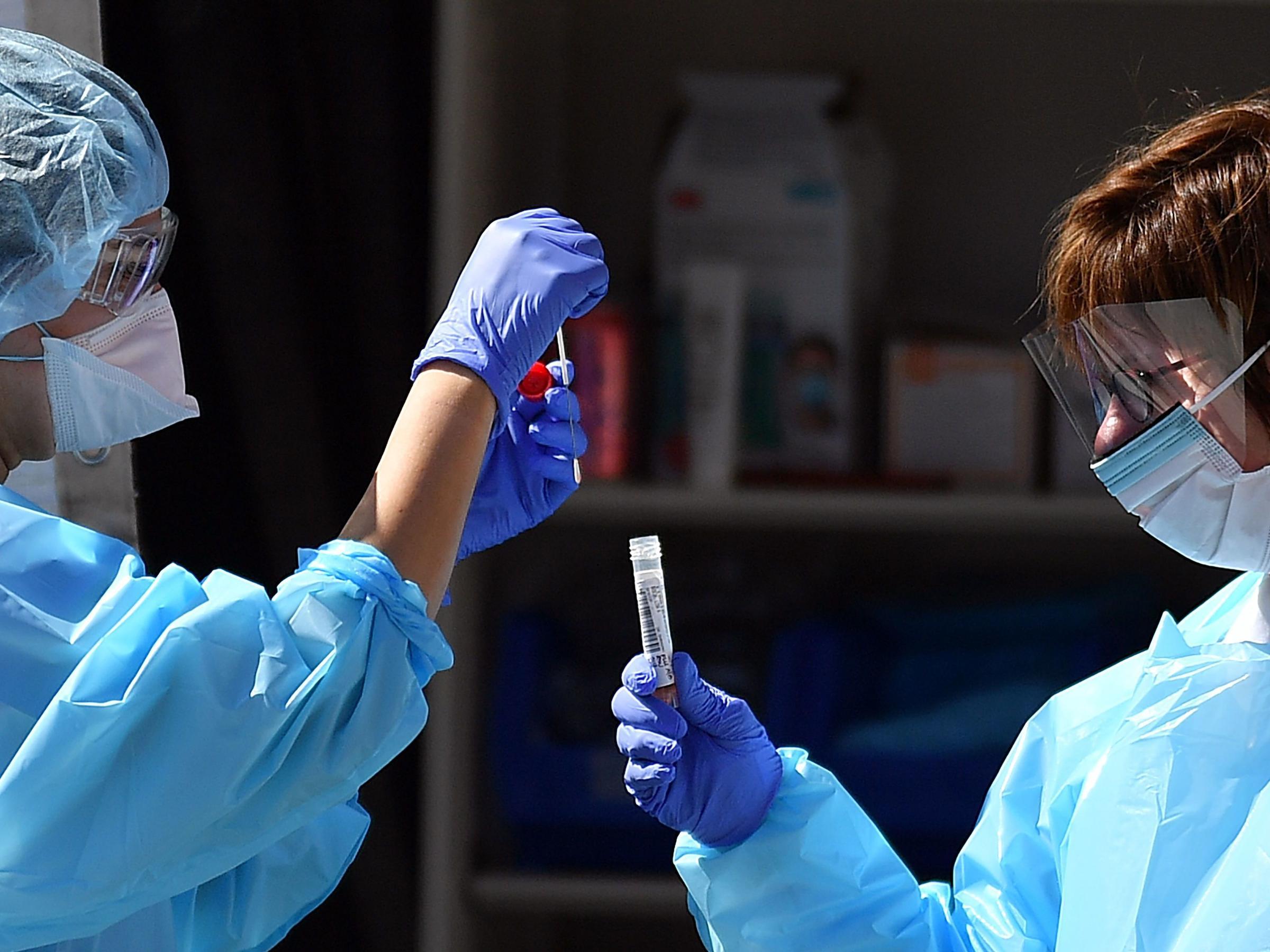 Trump Administration Announces Measures To Speed Coronavirus Testing Kera News