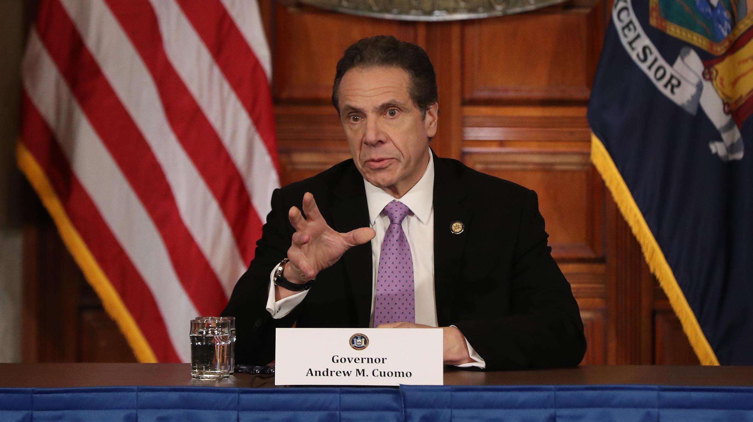 New York Gov Andrew Cuomo Takes The Spotlight In Coronavirus Response Wfae