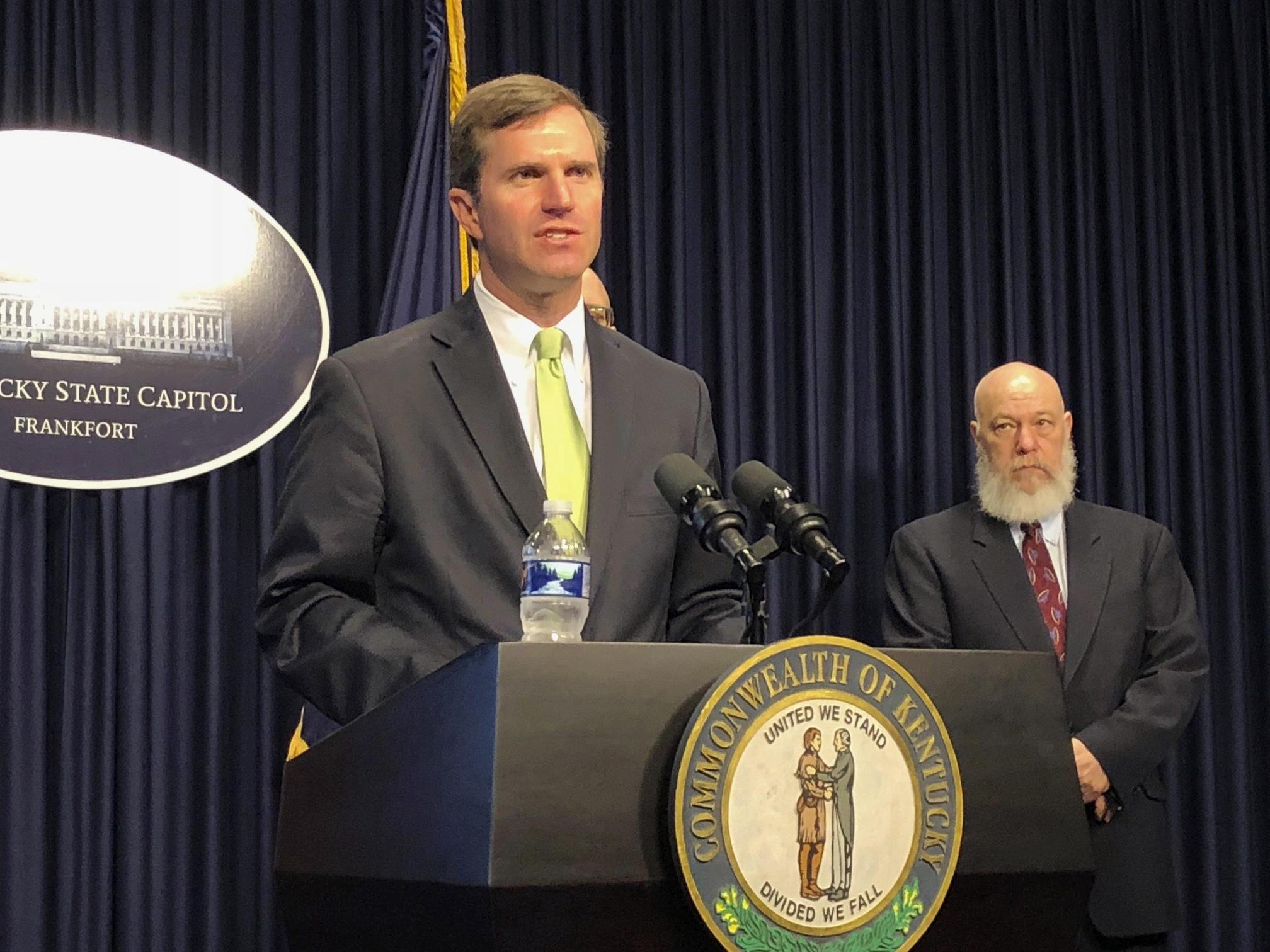Kentuckian Tests Positive After 'Coronavirus Party,' Governor Says