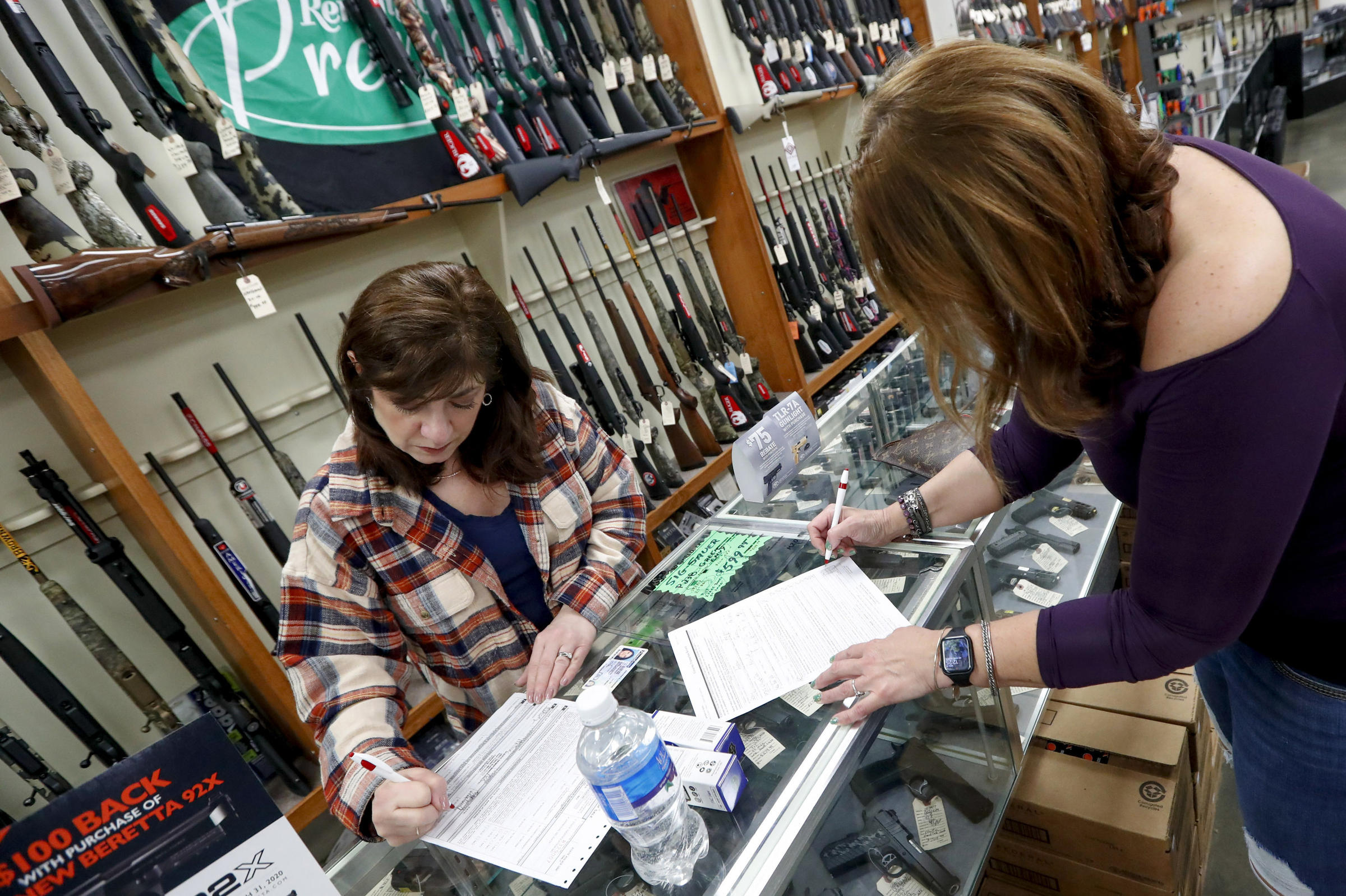 Trump administration rules gun shops